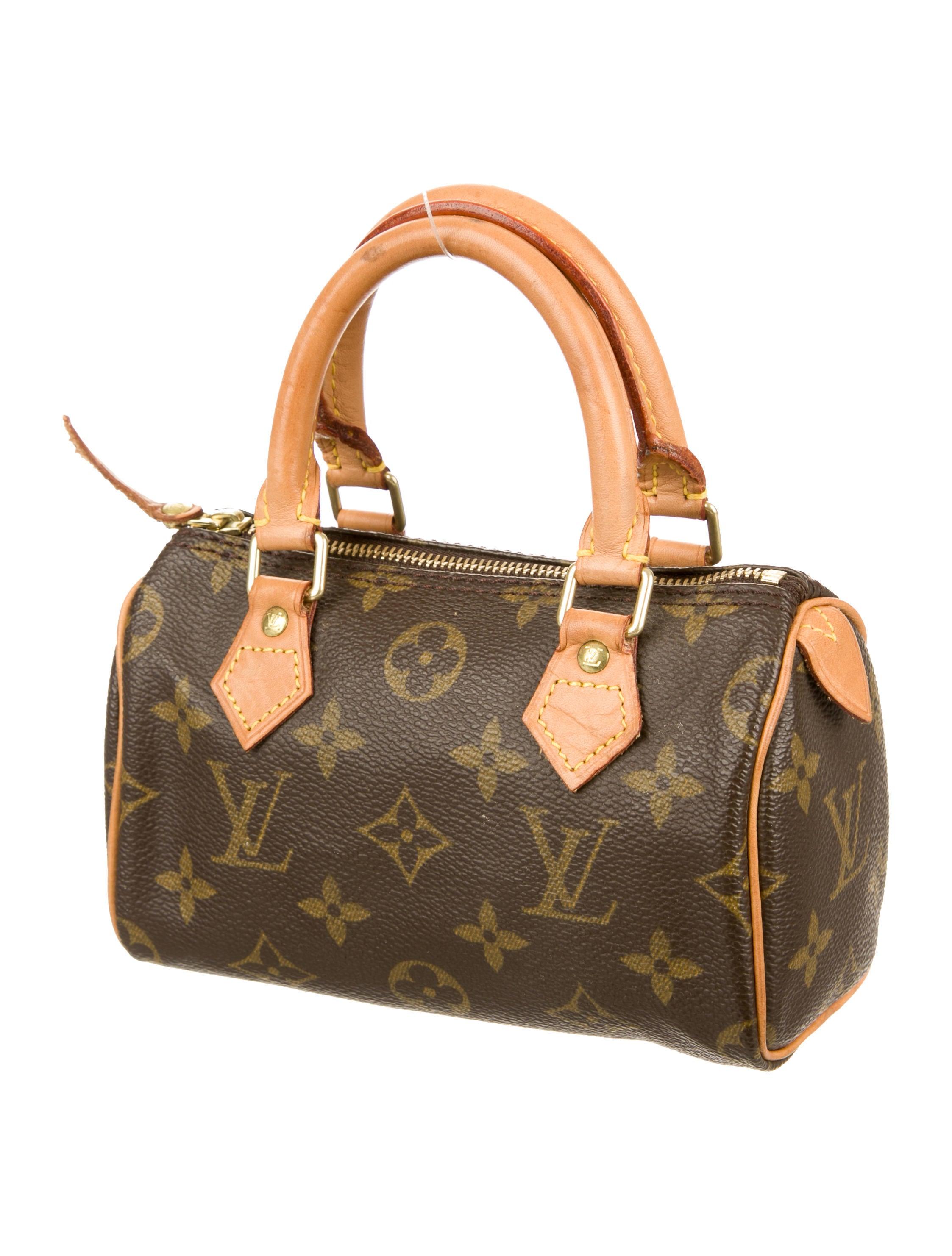 Louis Vuitton Mini Monogram Speedy Hl Handbags