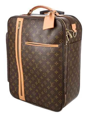 louis vuitton monogram bosphore trolley 50 luggage lou105635 the realreal. Black Bedroom Furniture Sets. Home Design Ideas