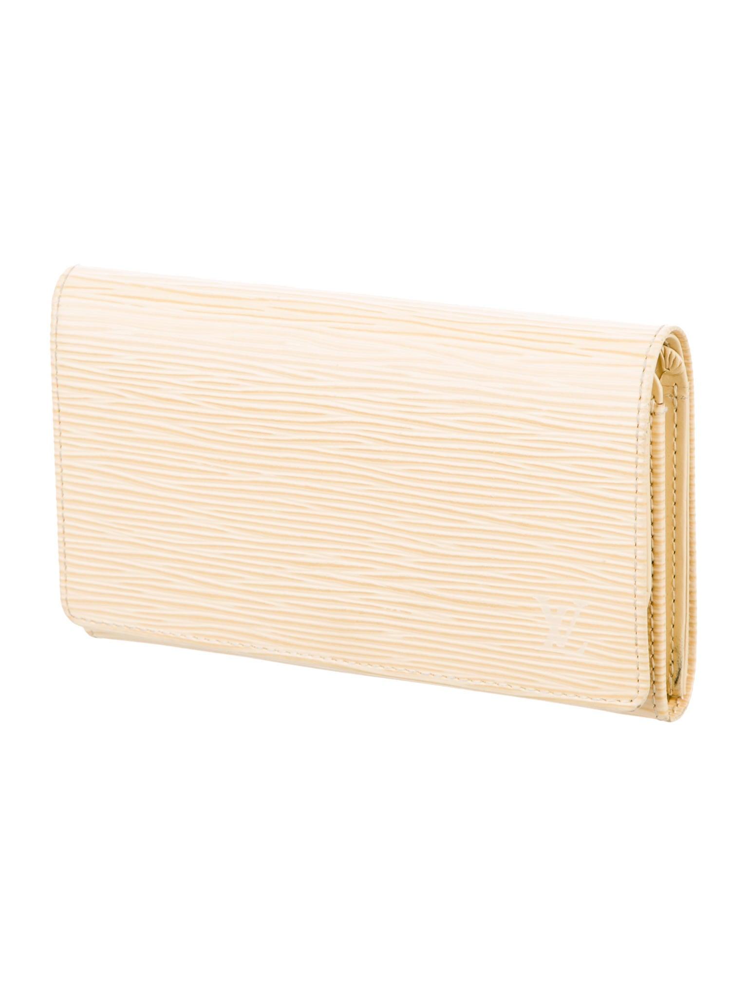 Louis vuitton porte monnaie billets tresor wallet for Porte monnaie wallet