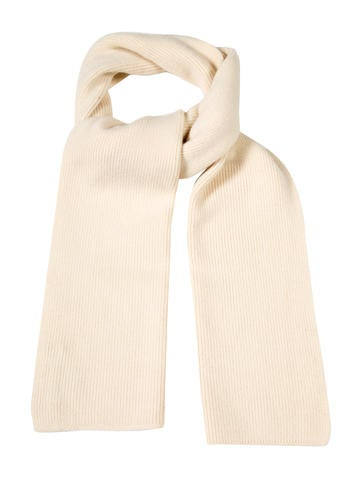 Louis Vuitton Cashmere Rib Knit Scarf None