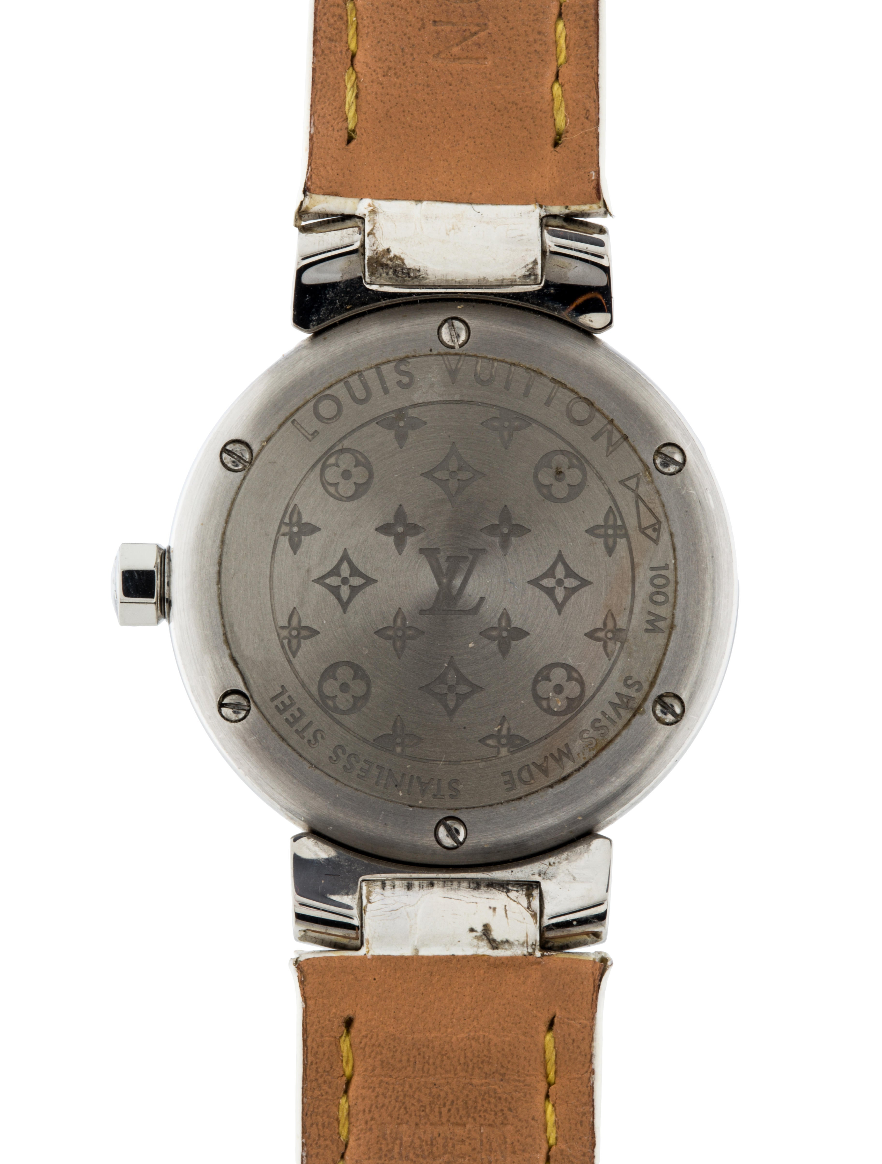 Louis Vuitton Tambour Watch Strap Lou105783 The Realreal