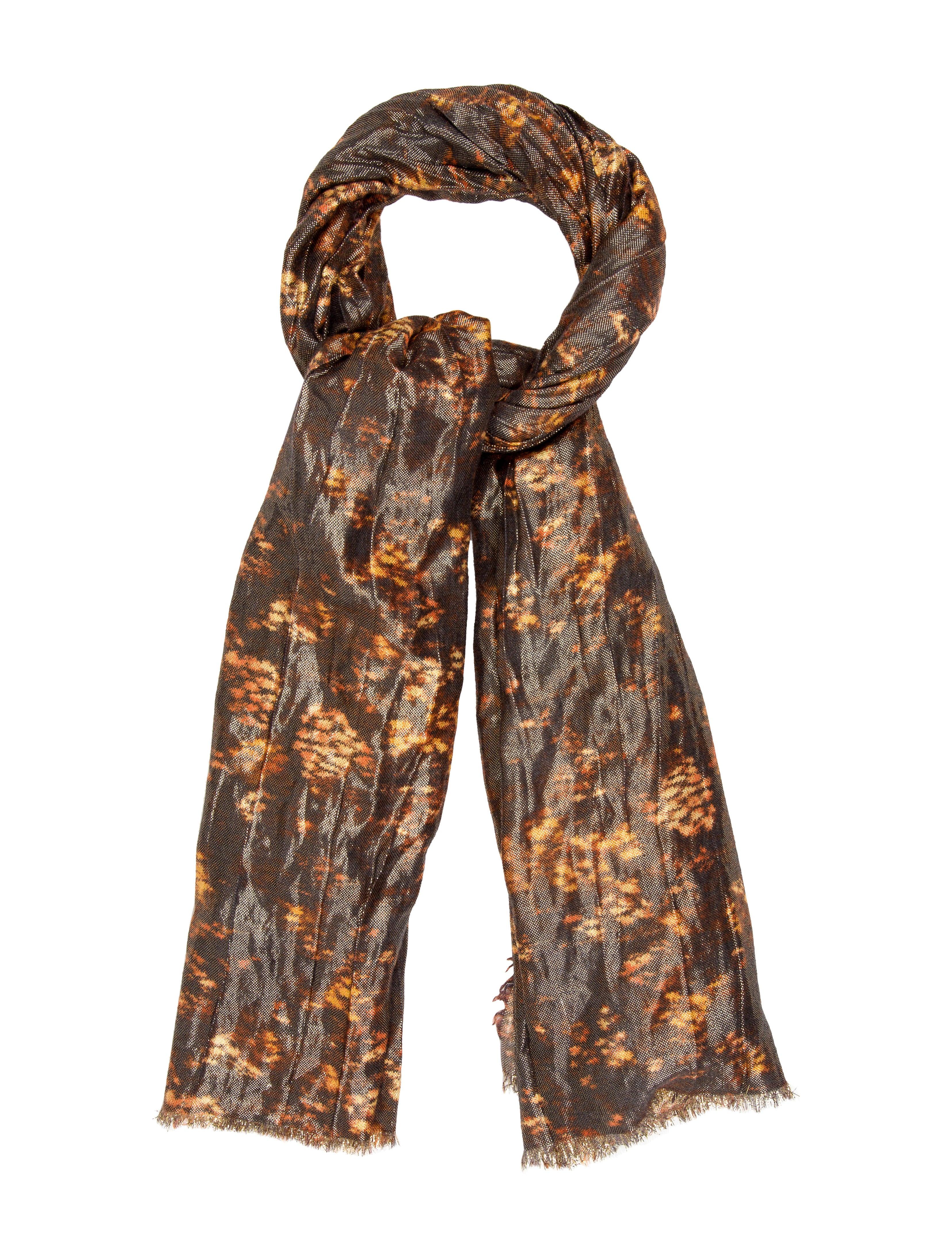 louis vuitton lurex scarf accessories