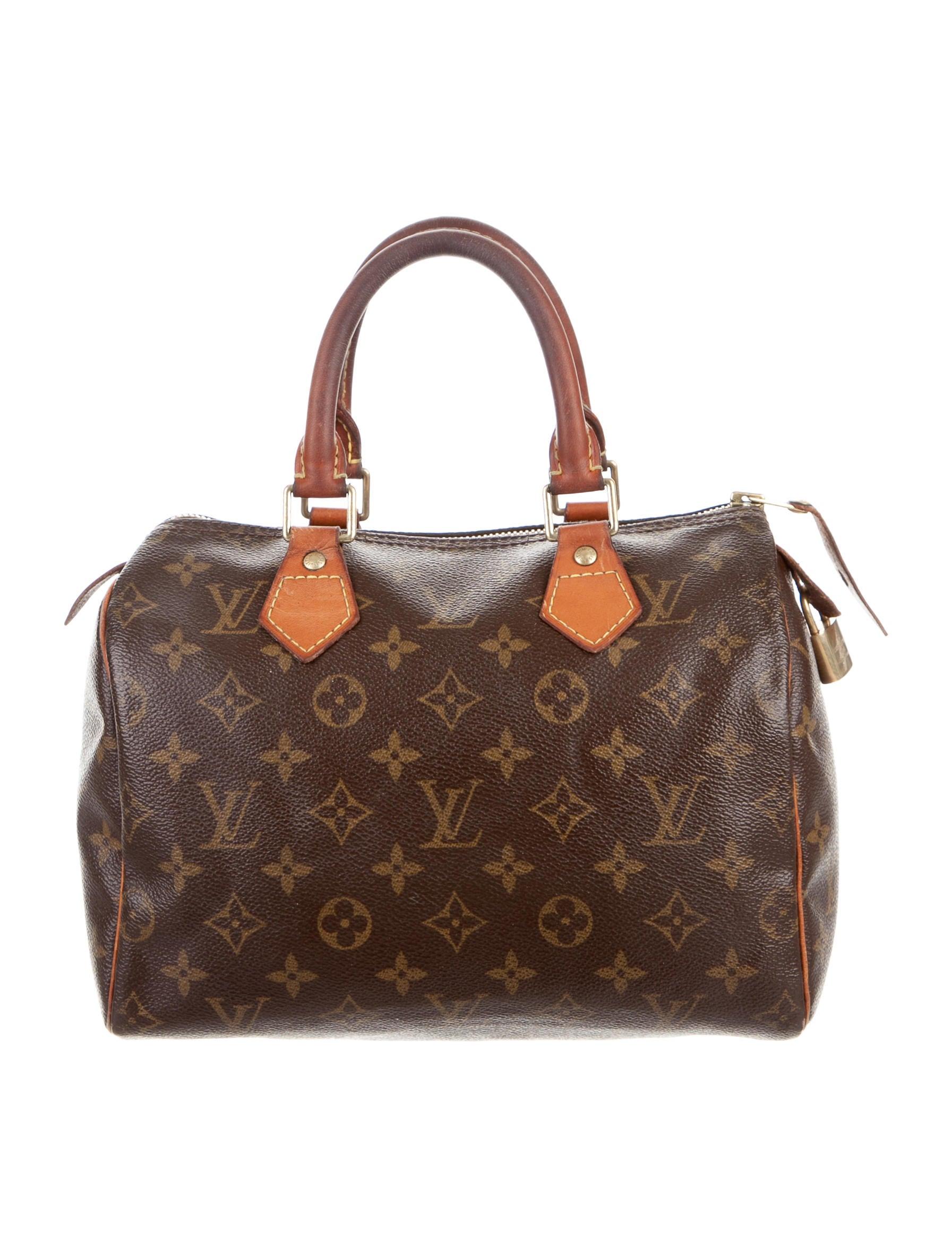 louis vuitton monogram speedy 25 handbags lou106214. Black Bedroom Furniture Sets. Home Design Ideas
