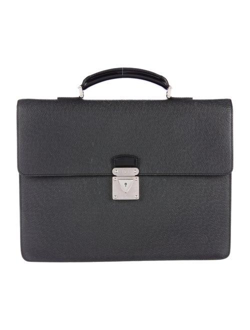 Louis Vuitton Taiga Laguito Briefcase black