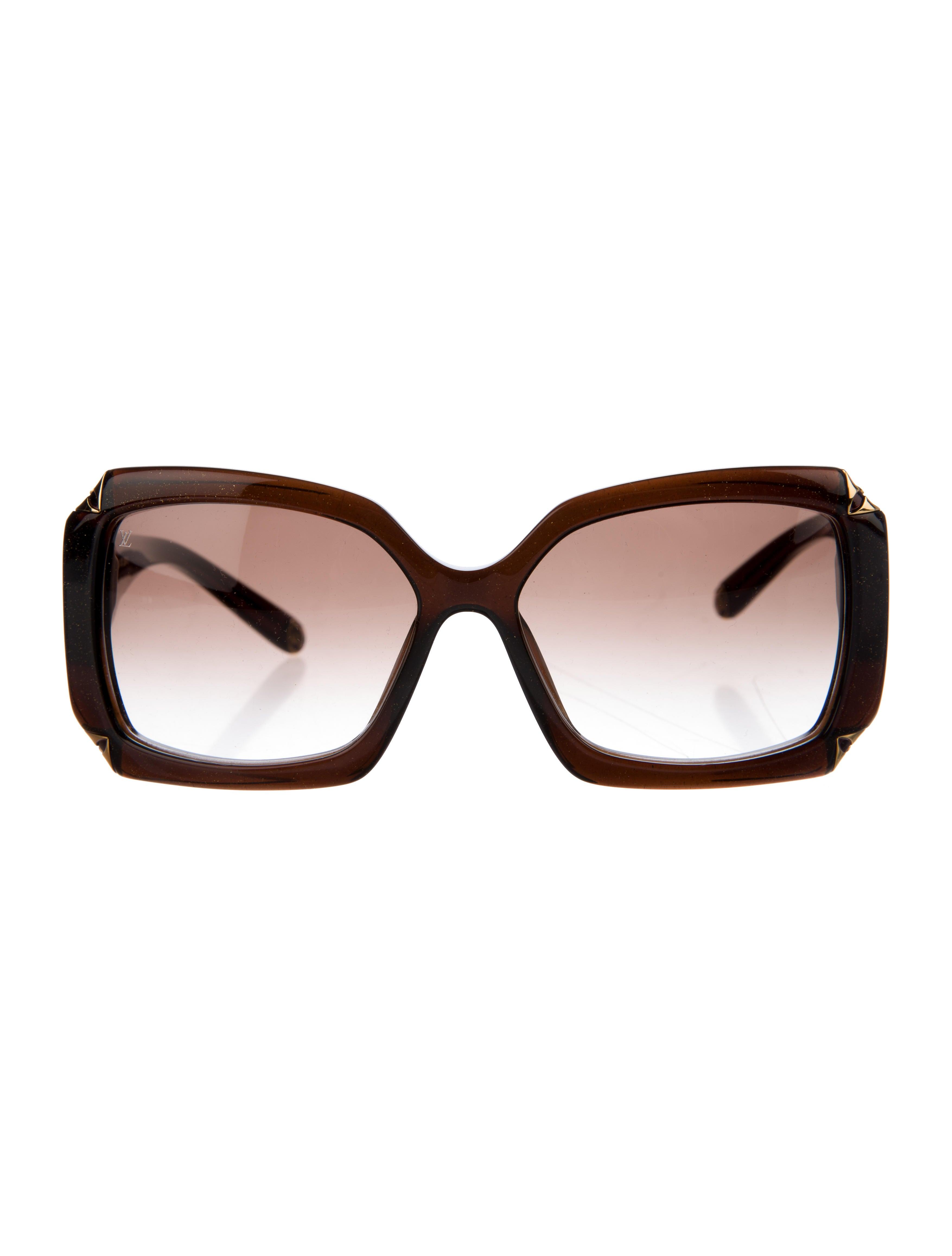 86d94998f5c Women · Accessories  Louis Vuitton Glitter Hortensia Sunglasses. Glitter  Hortensia Sunglasses