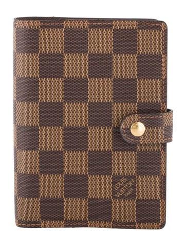 Louis Vuitton Damier Small Ring Agenda Cover