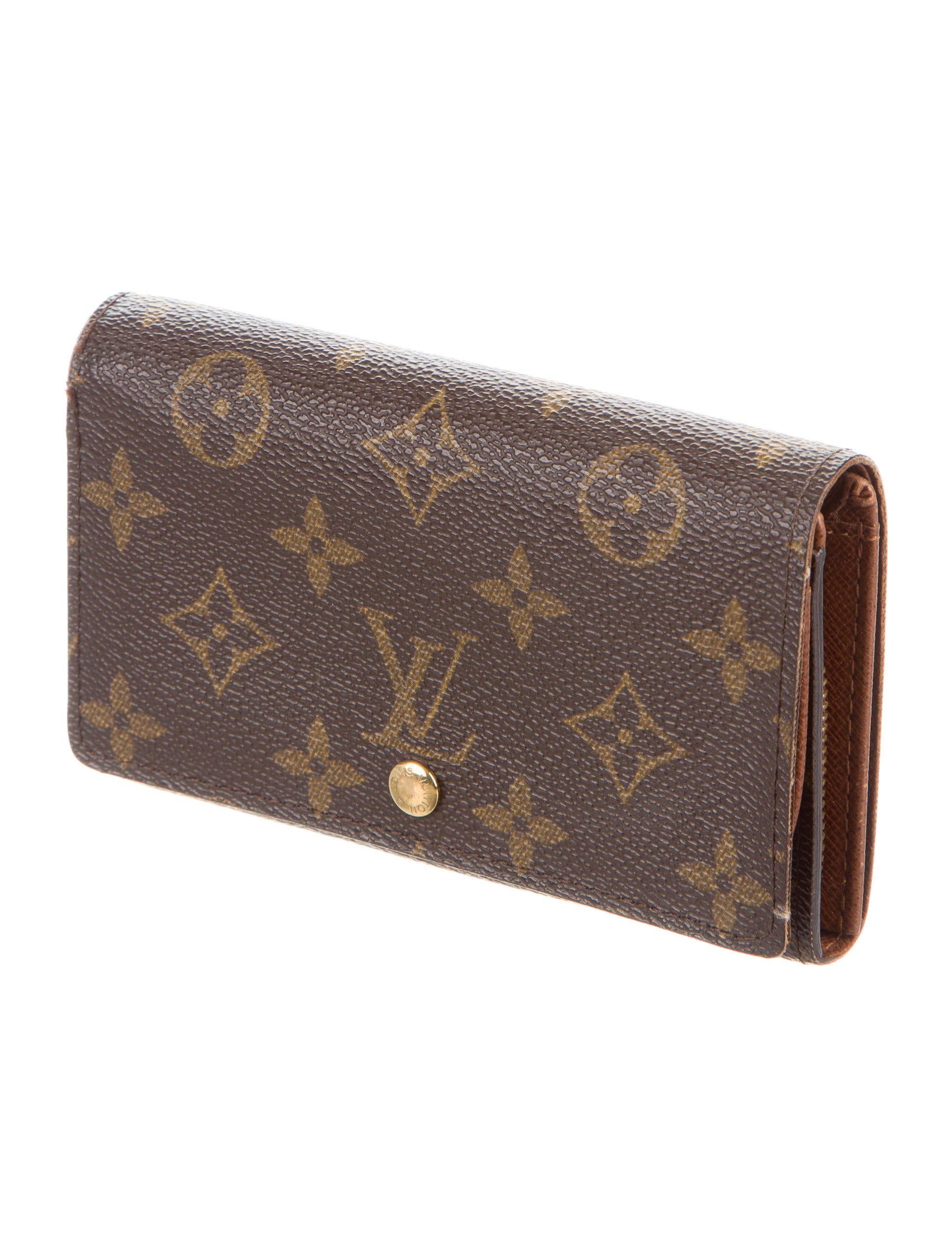 louis vuitton monogram porte monnaie billets wallet