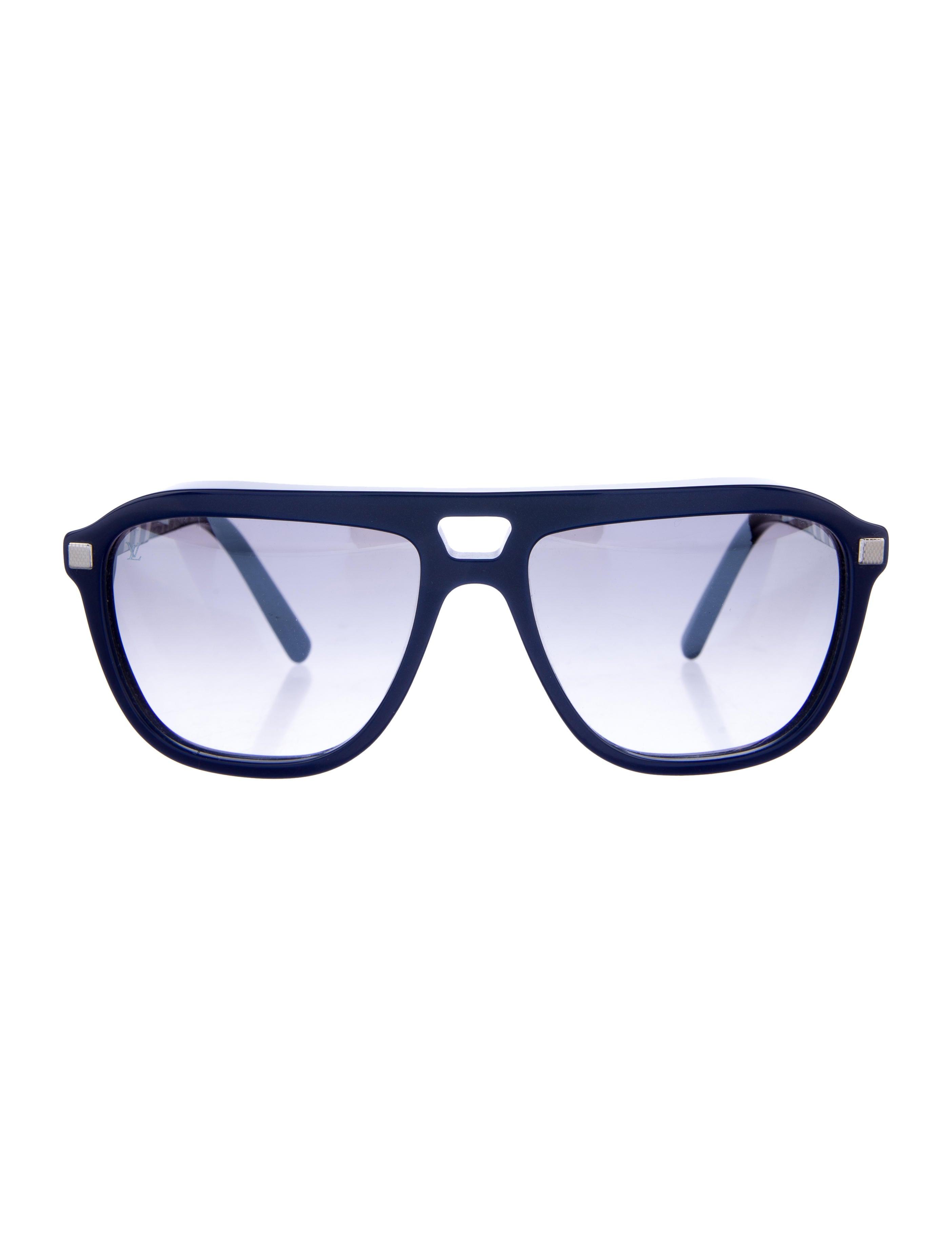 cb104bbaebeee Louis Vuitton Conviction Pilot Sunglasses - Accessories - LOU106709 ...