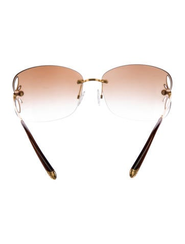 Lily Rimless Sunglasses