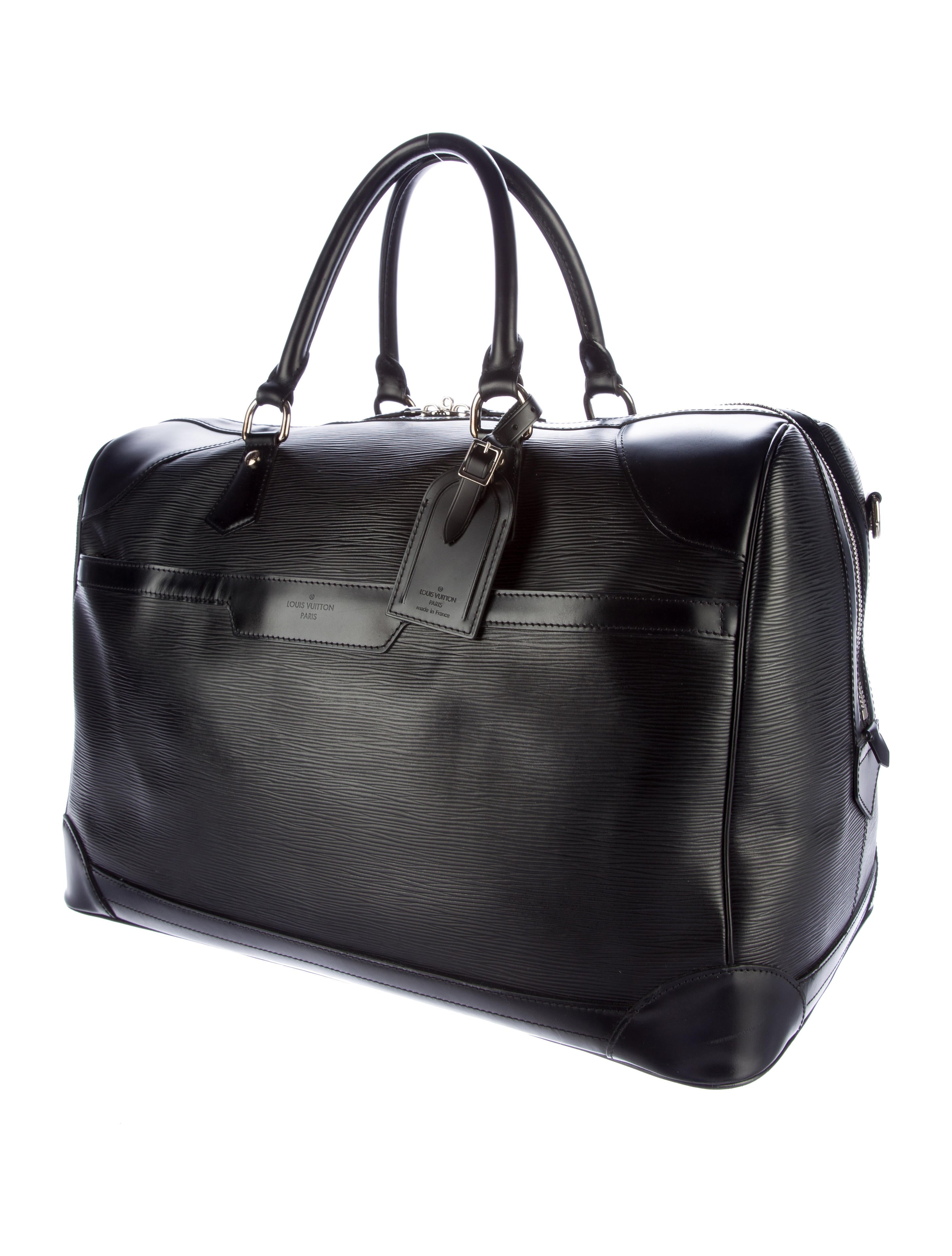 louis vuitton sac de voyage bourget 50 bags lou106893 the realreal. Black Bedroom Furniture Sets. Home Design Ideas