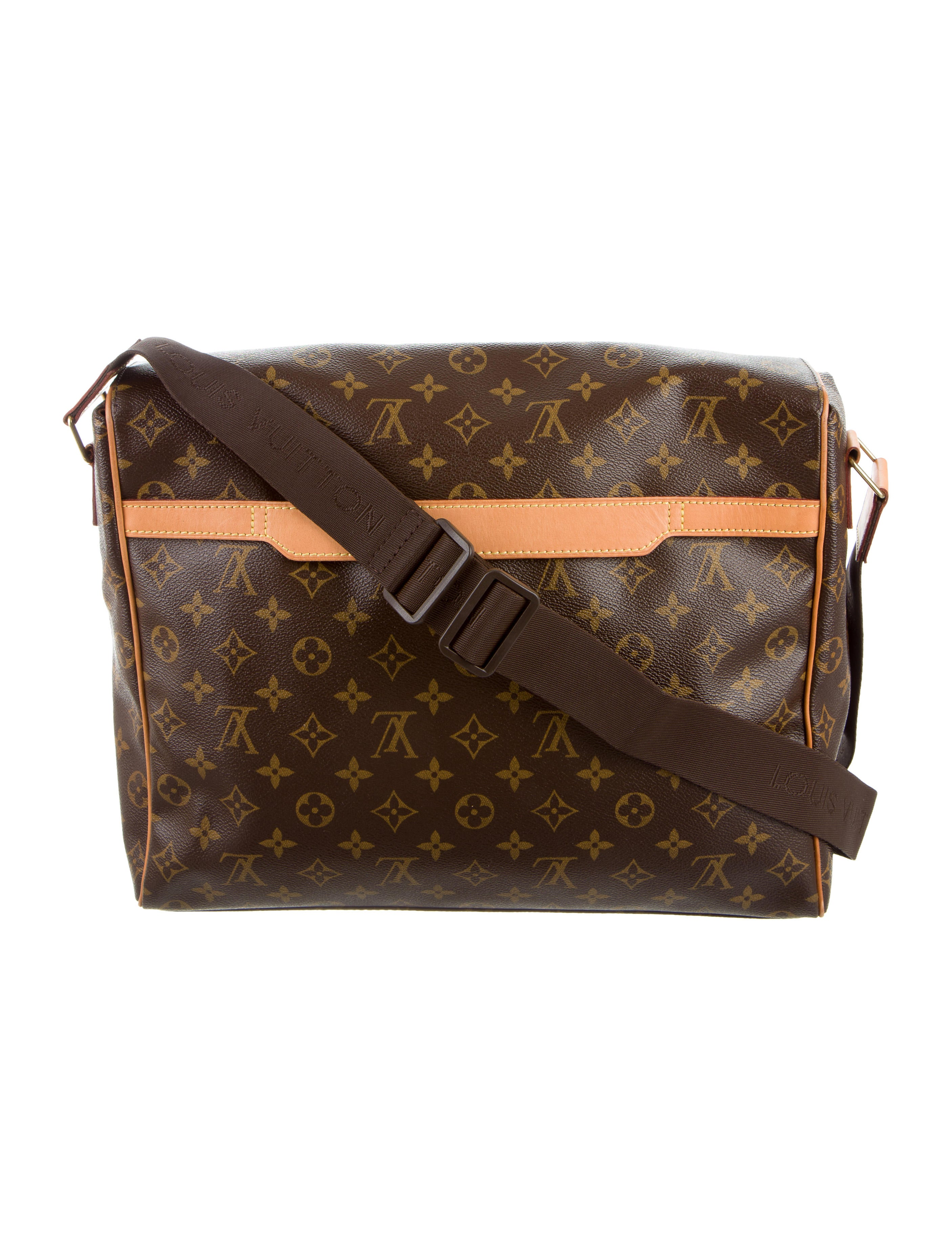 New Louis Vuitton Macassar MM Messenger Bag | EBay