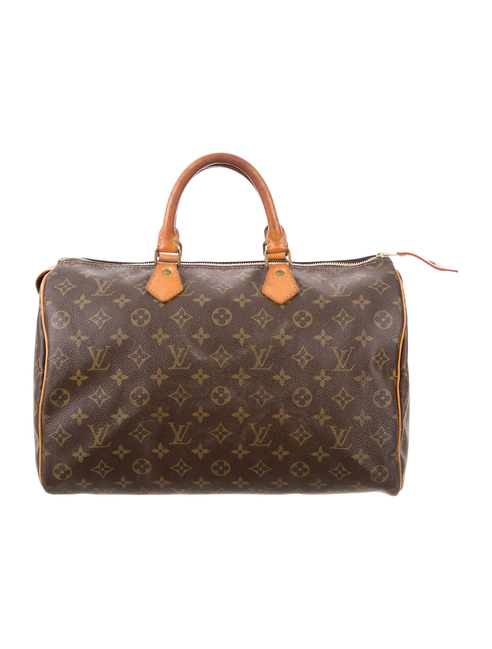Louis vuitton monogram speedy 35 handbags lou107139 for Louis vuitton miroir speedy 35
