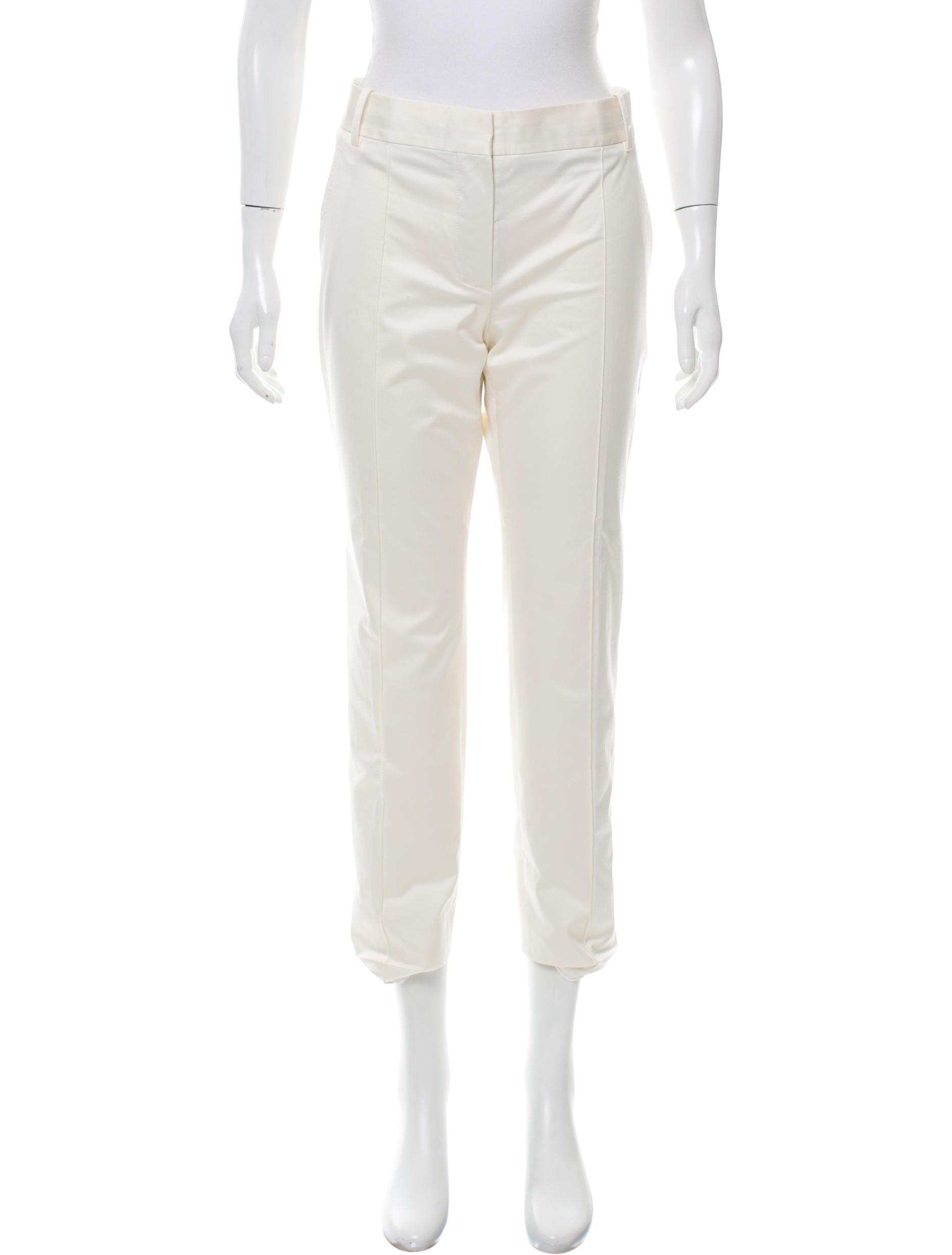 Beautiful Louis Vuitton Cropped StraightLeg Pants  Pants  LOU58243  The