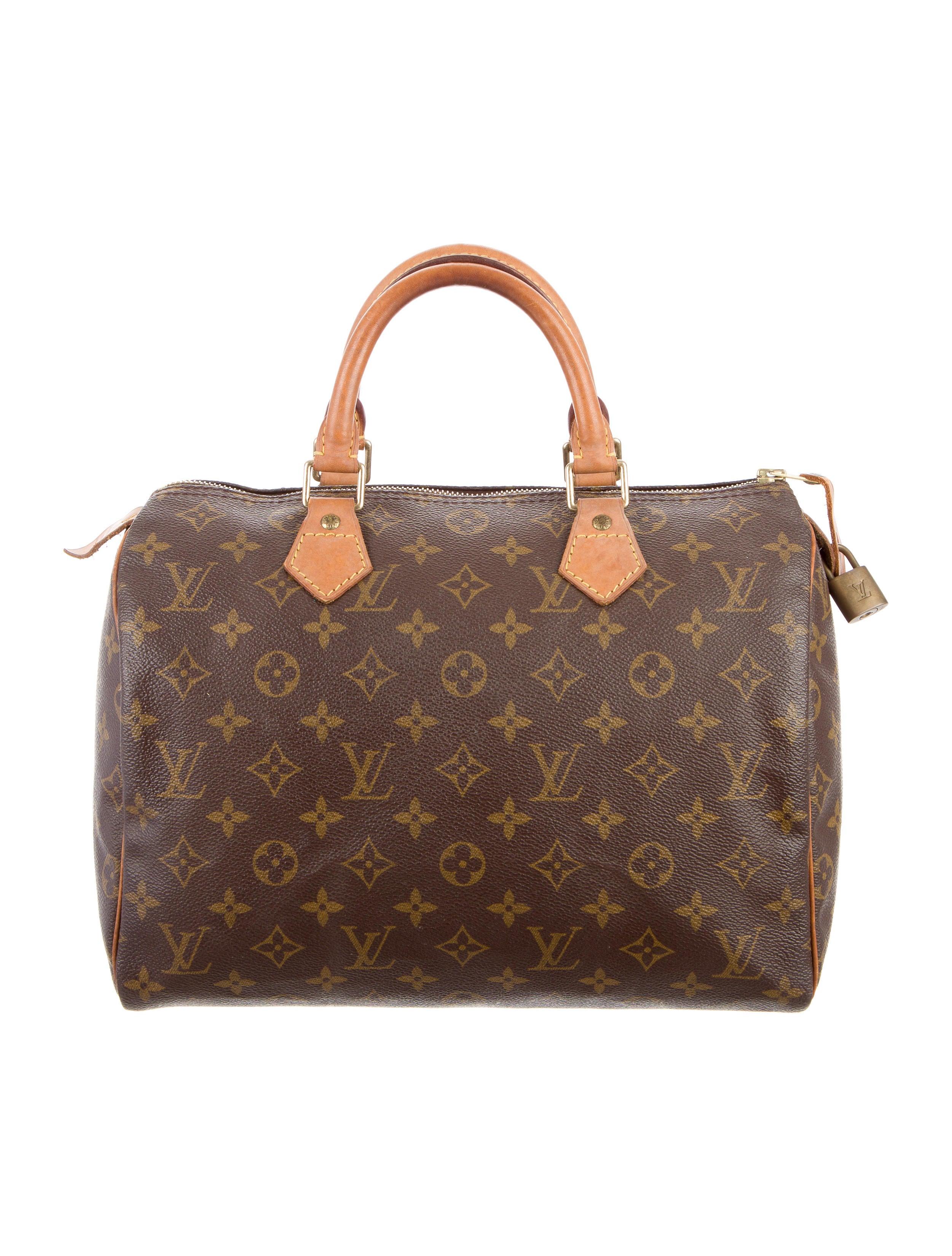 louis vuitton monogram speedy 30 handbags lou107152. Black Bedroom Furniture Sets. Home Design Ideas