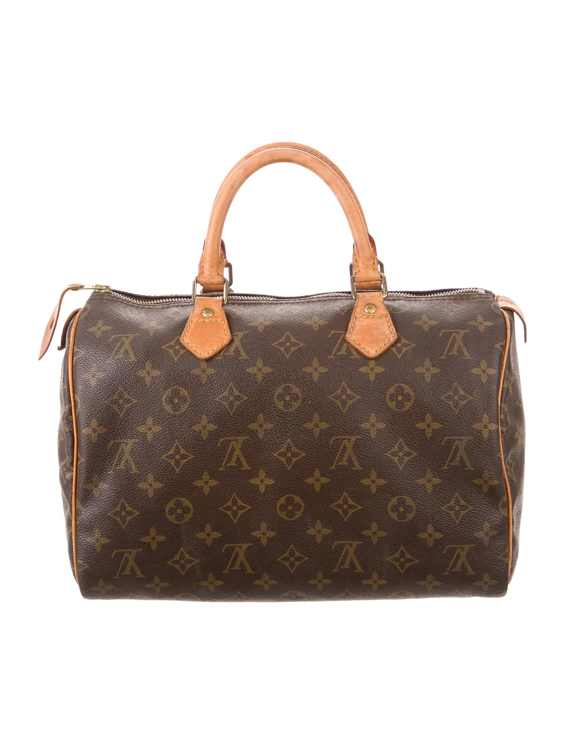 Louis vuitton monogram speedy 30 handbags lou107160 for Louis vuitton miroir speedy 30