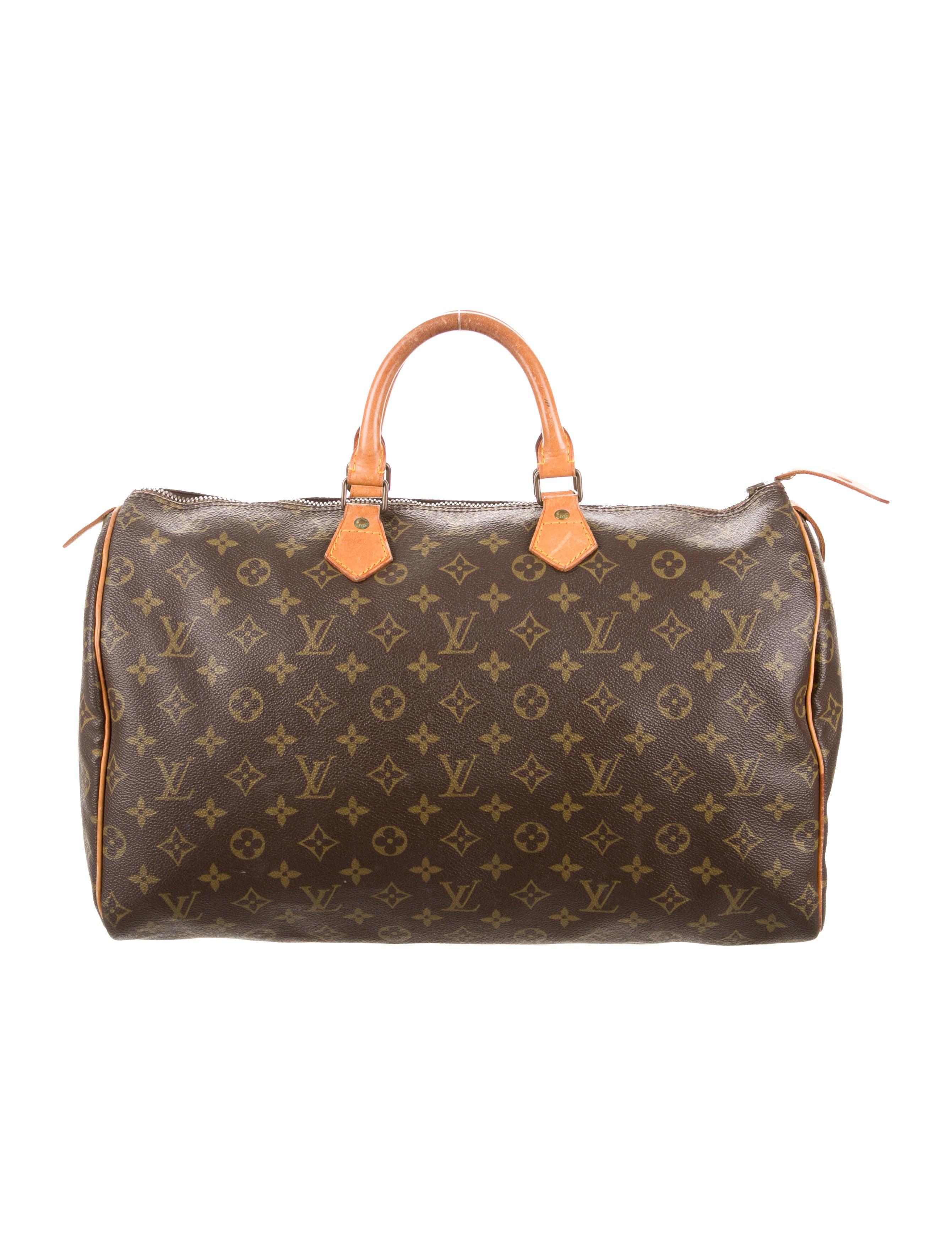 louis vuitton monogram speedy 40 handbags lou107163. Black Bedroom Furniture Sets. Home Design Ideas