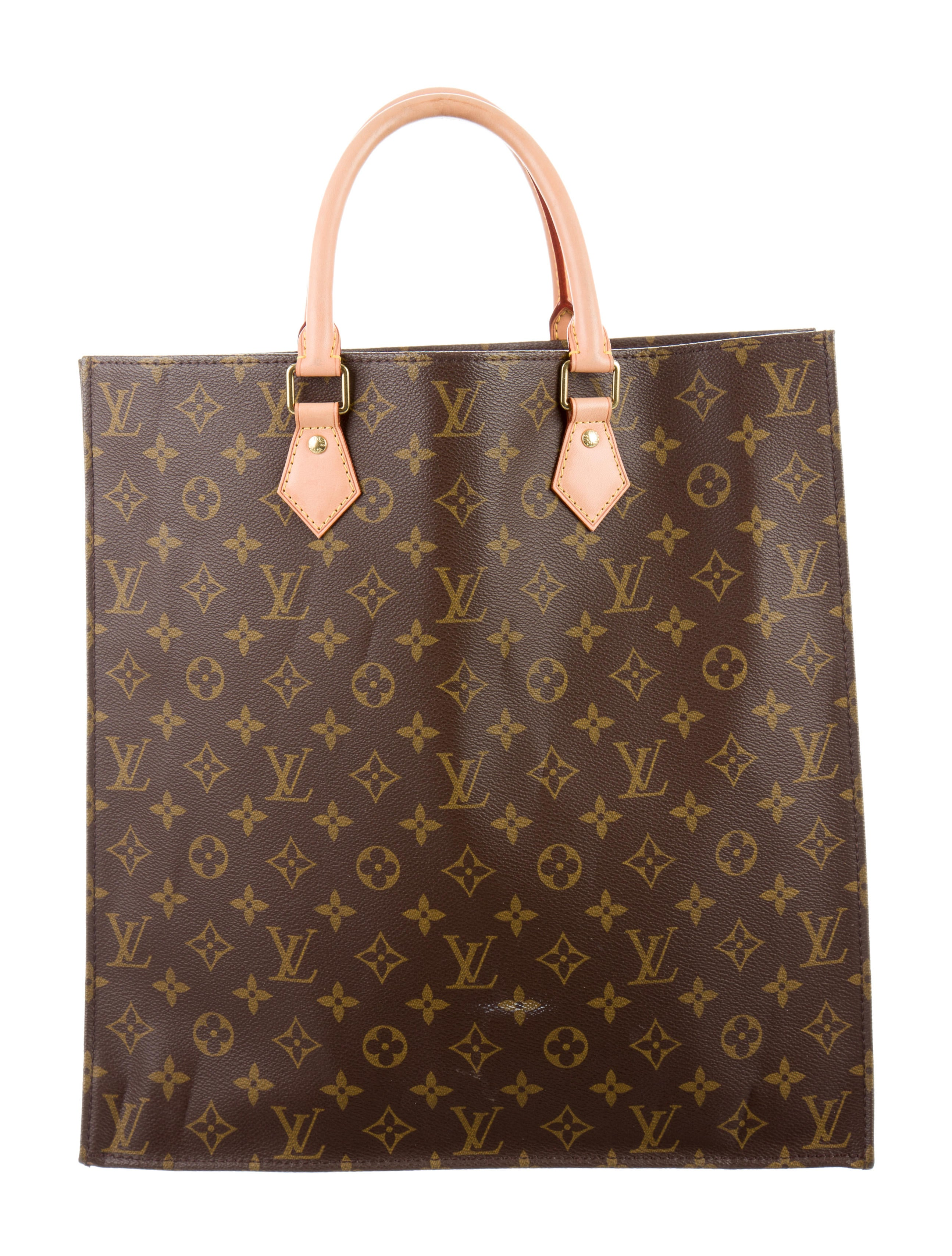 Louis vuitton monogram sac plat nm handbags lou107912 for Louis vuitton monogram miroir sac plat