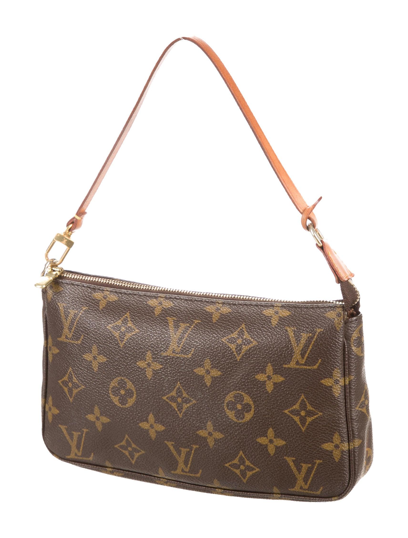 louis vuitton monogram pochette accessoires handbags. Black Bedroom Furniture Sets. Home Design Ideas