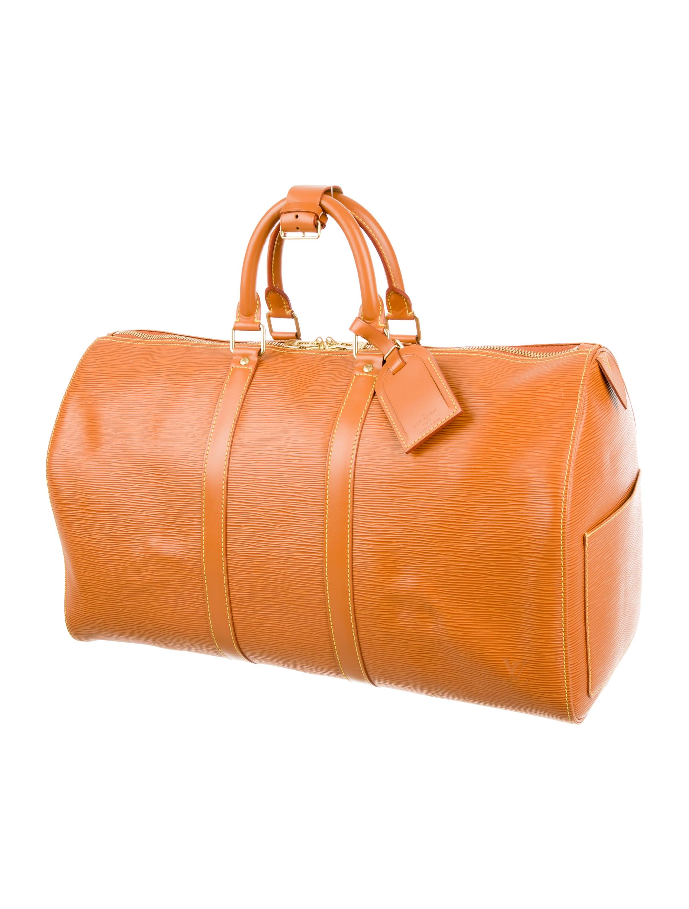 louis vuitton epi keepall 45 handbags lou108545 the. Black Bedroom Furniture Sets. Home Design Ideas