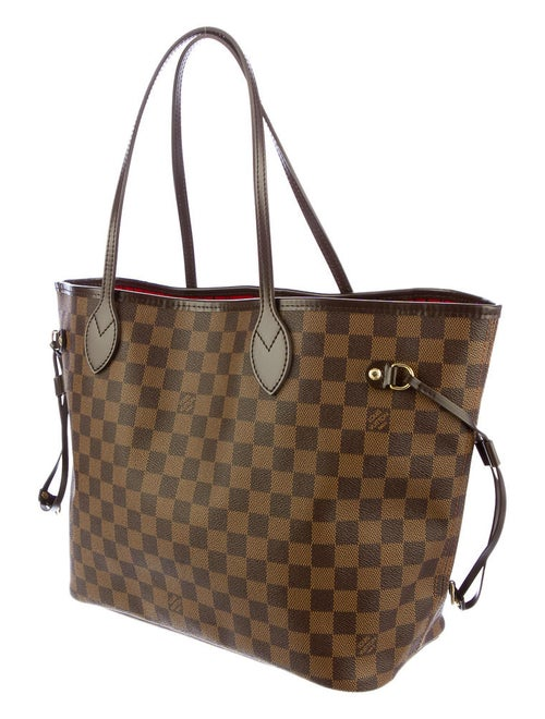 40bdc814fbd5 Louis Vuitton Damier Ebene Neverfull MM - Handbags - LOU10889