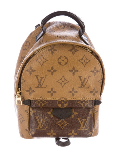02bbfa968d3a7 Louis Vuitton 2016 Reverse Monogram Mini Palm Springs Backpack ...