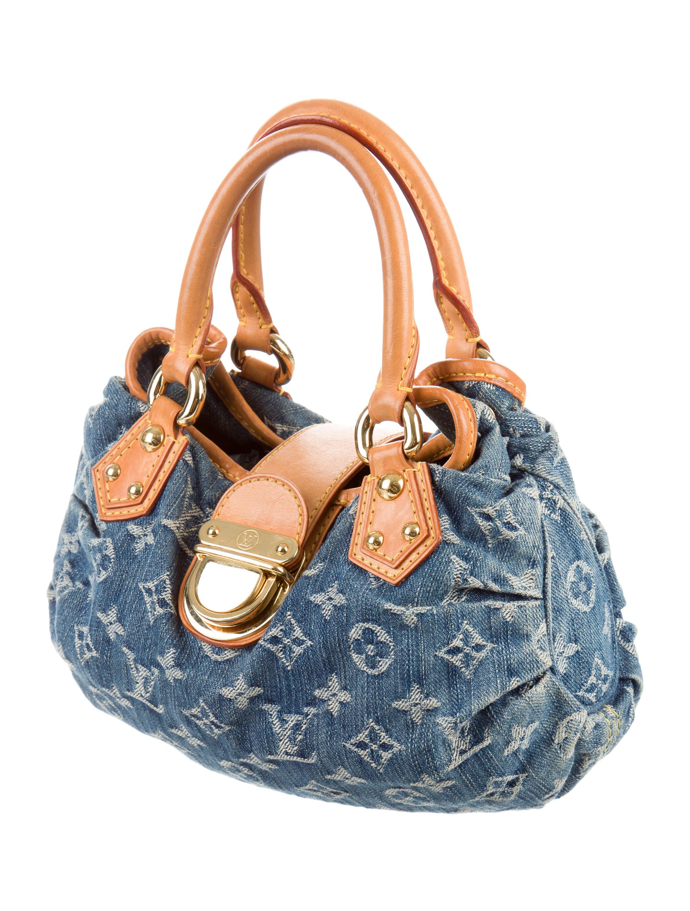 Louis Vuitton Monogram Denim Pleaty Bag - Handbags - LOU109713 | The RealReal