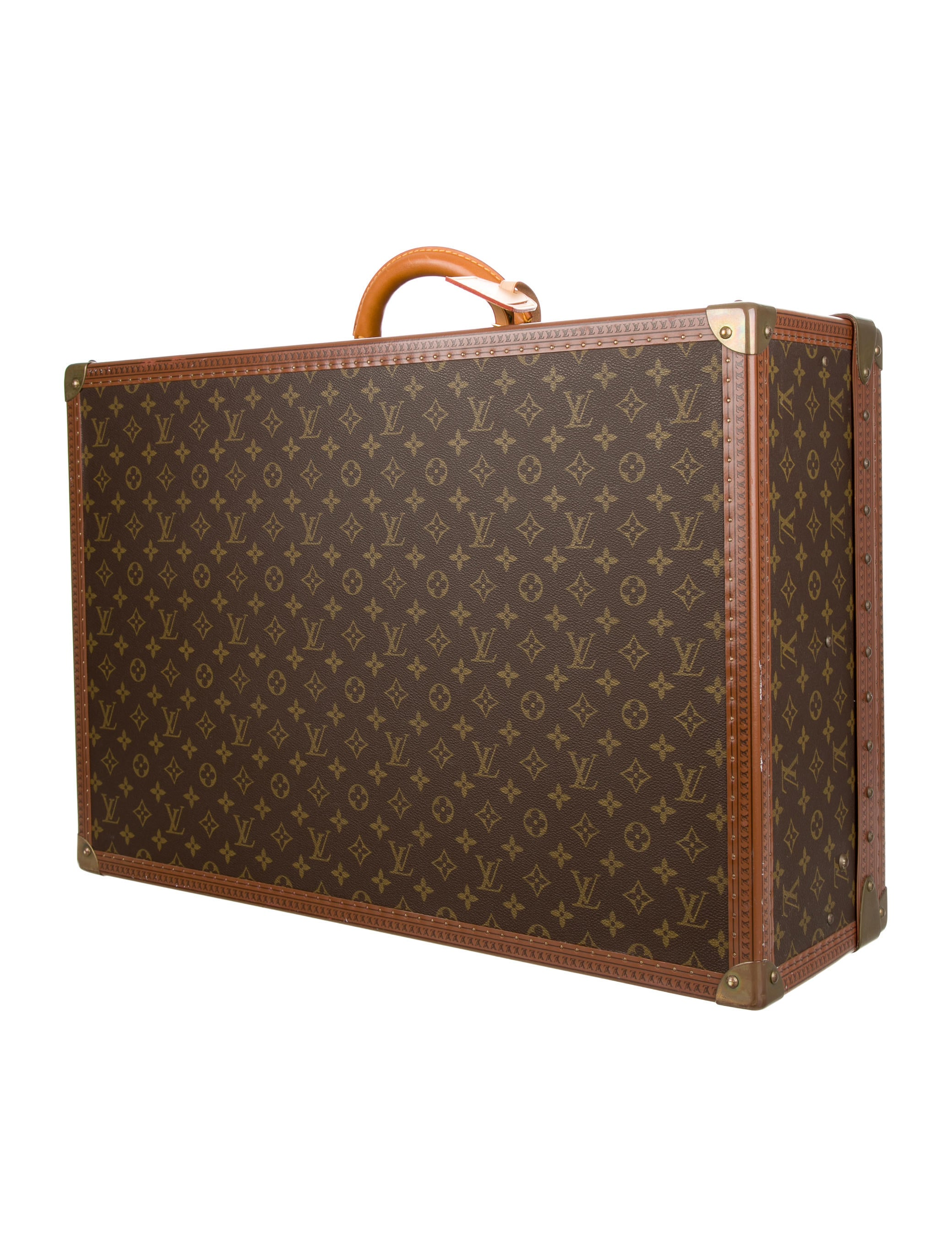 louis vuitton monogram alzer 65 luggage lou110056 the realreal. Black Bedroom Furniture Sets. Home Design Ideas