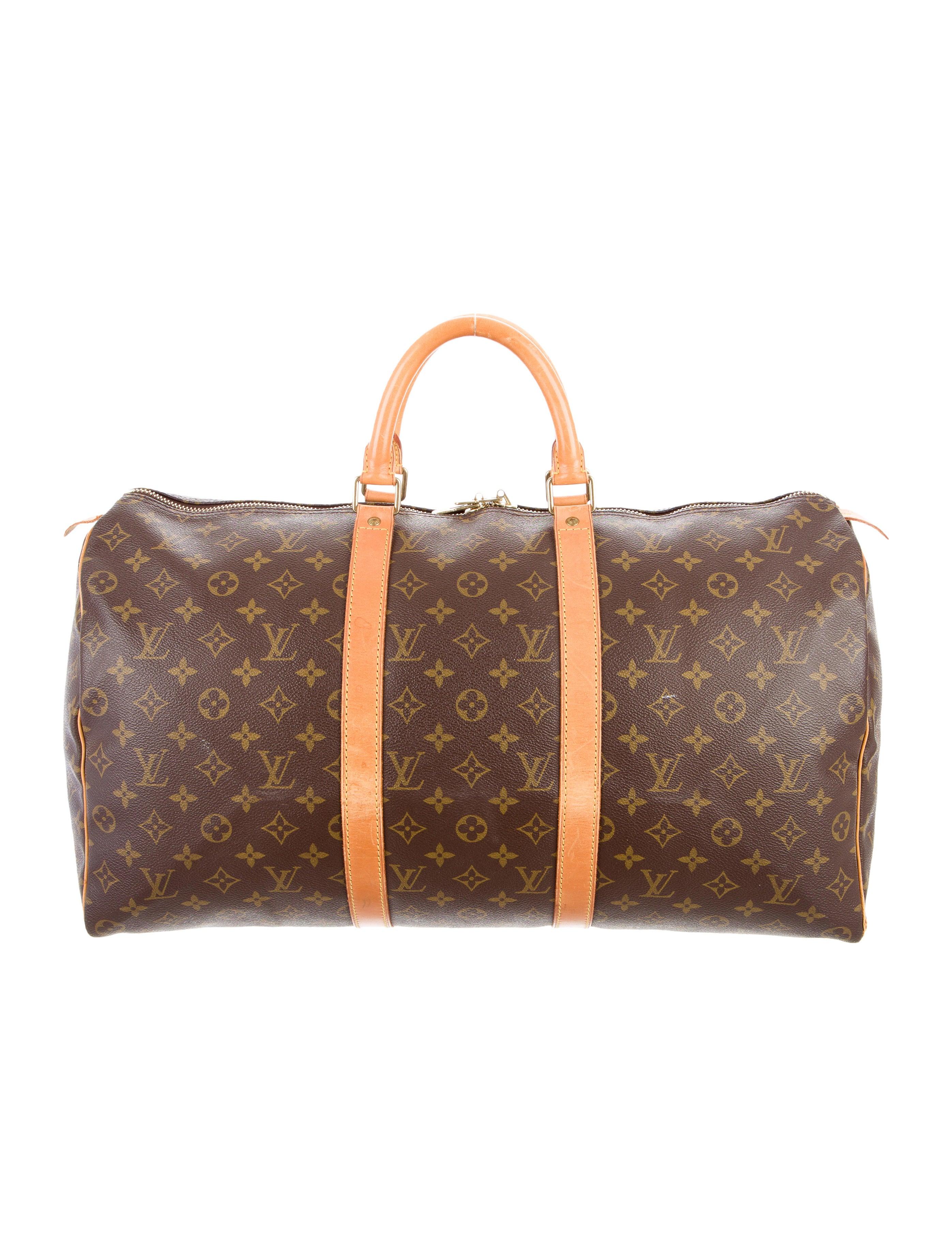 louis vuitton monogram keepall 50 handbags lou110256. Black Bedroom Furniture Sets. Home Design Ideas