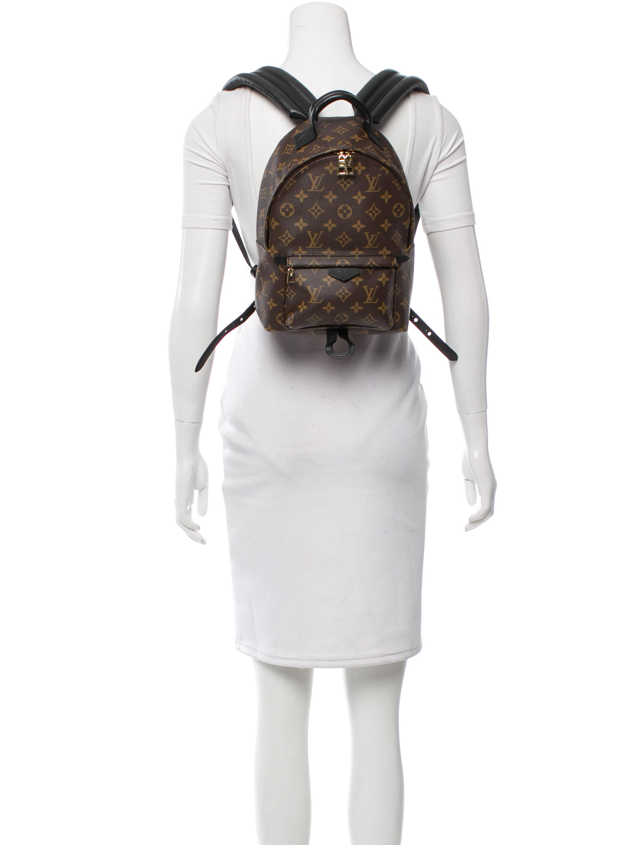 Louis Vuitton 2016 Palm Springs Backpack Pm Handbags