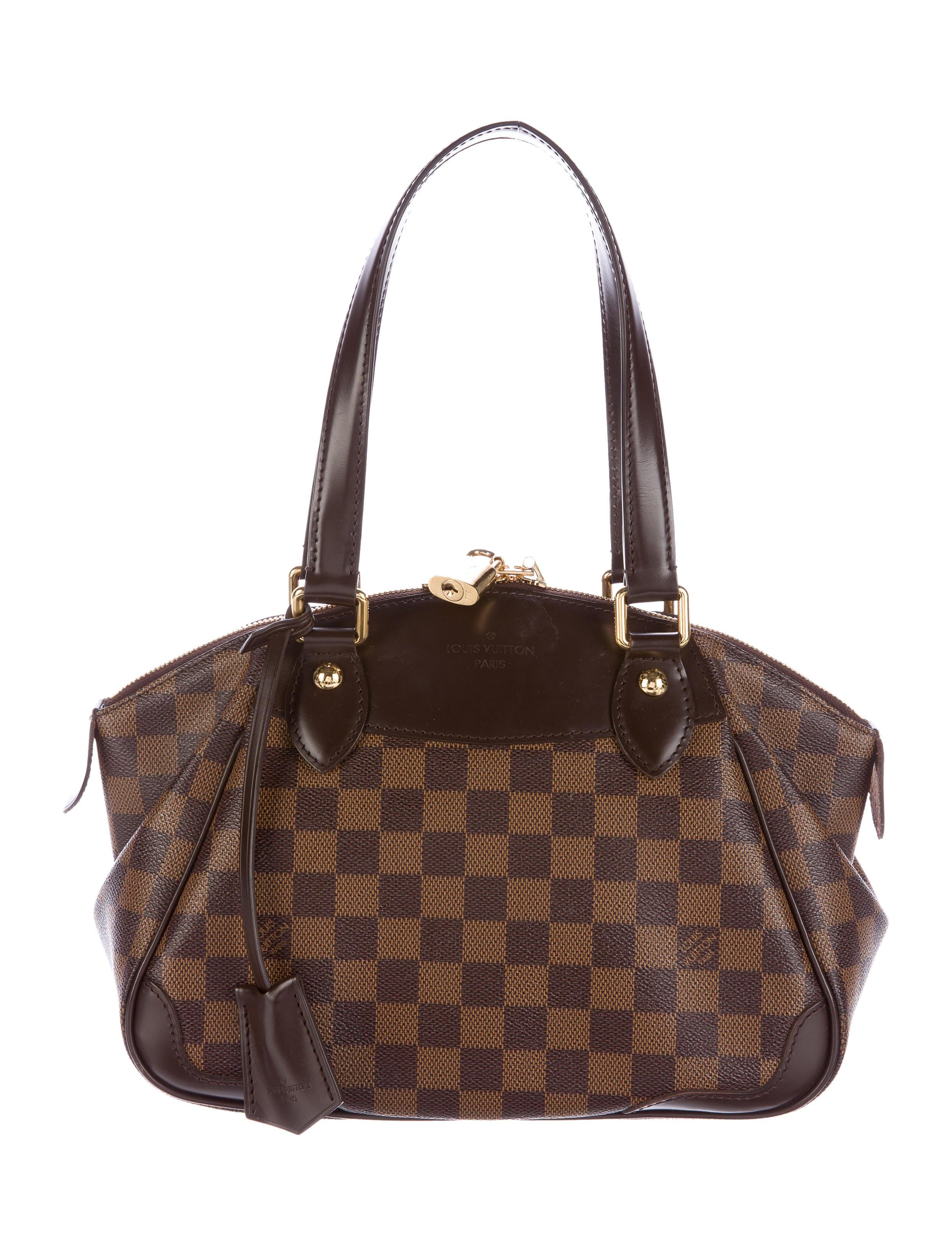 0a69457891f Louis Vuitton Damier Ebene Verona PM - Handbags - LOU110585