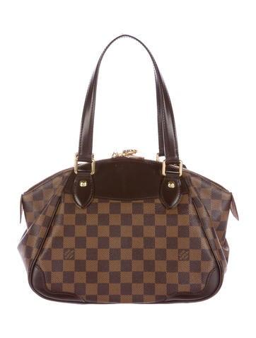 f236d4f9b1a9 Louis Vuitton Damier Ebene Verona PM - Handbags - LOU110585