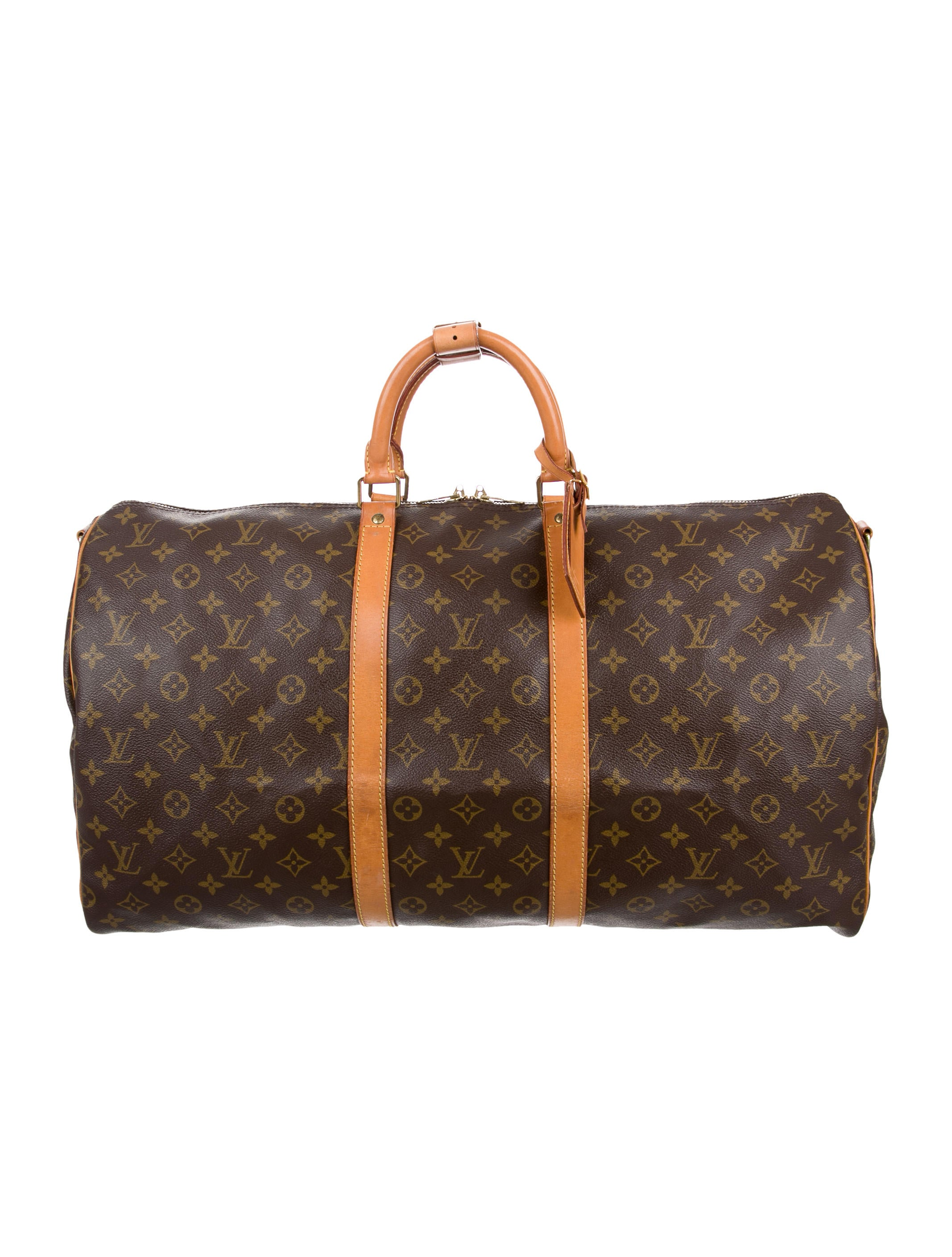 louis vuitton monogram keepall 55 bandouli re bags. Black Bedroom Furniture Sets. Home Design Ideas