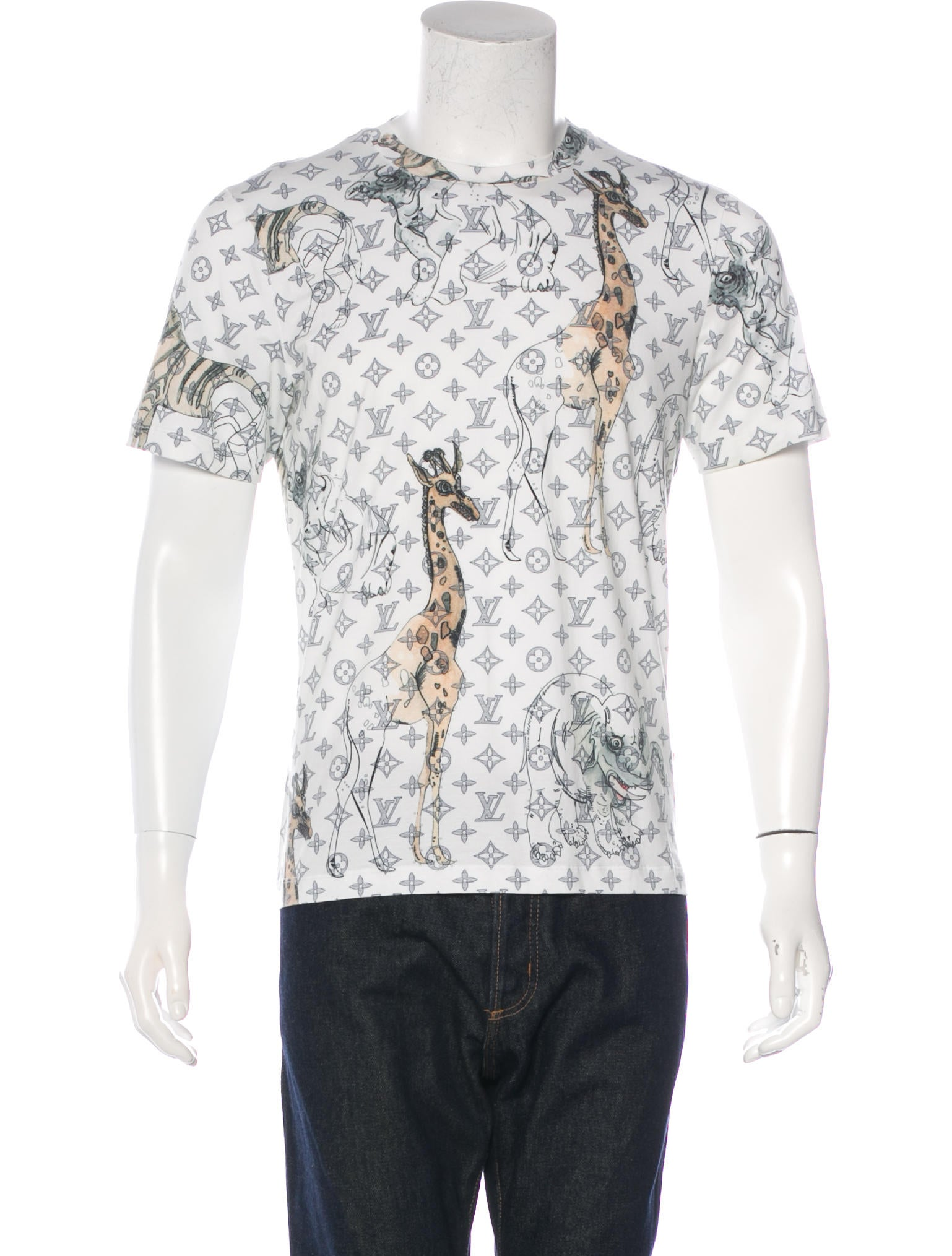 bdb65954aa6b Louis Vuitton 2017 Chapman Brothers Monogram T-Shirt - Clothing ...