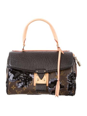 Louis Vuitton Fleur de Jais Carrousel Bag None
