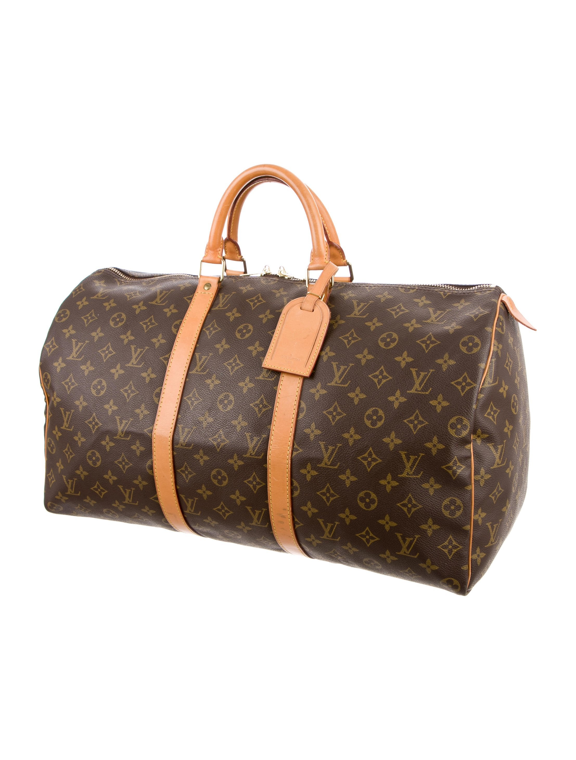 louis vuitton monogram keepall 50 bags lou111321 the. Black Bedroom Furniture Sets. Home Design Ideas