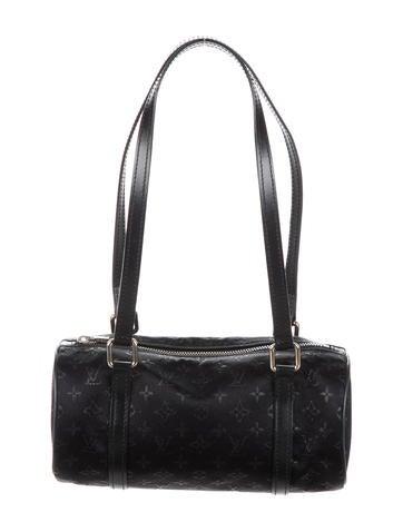066075f4c770 Louis Vuitton Monogram Satin Mini Papillon Bag - Handbags ...