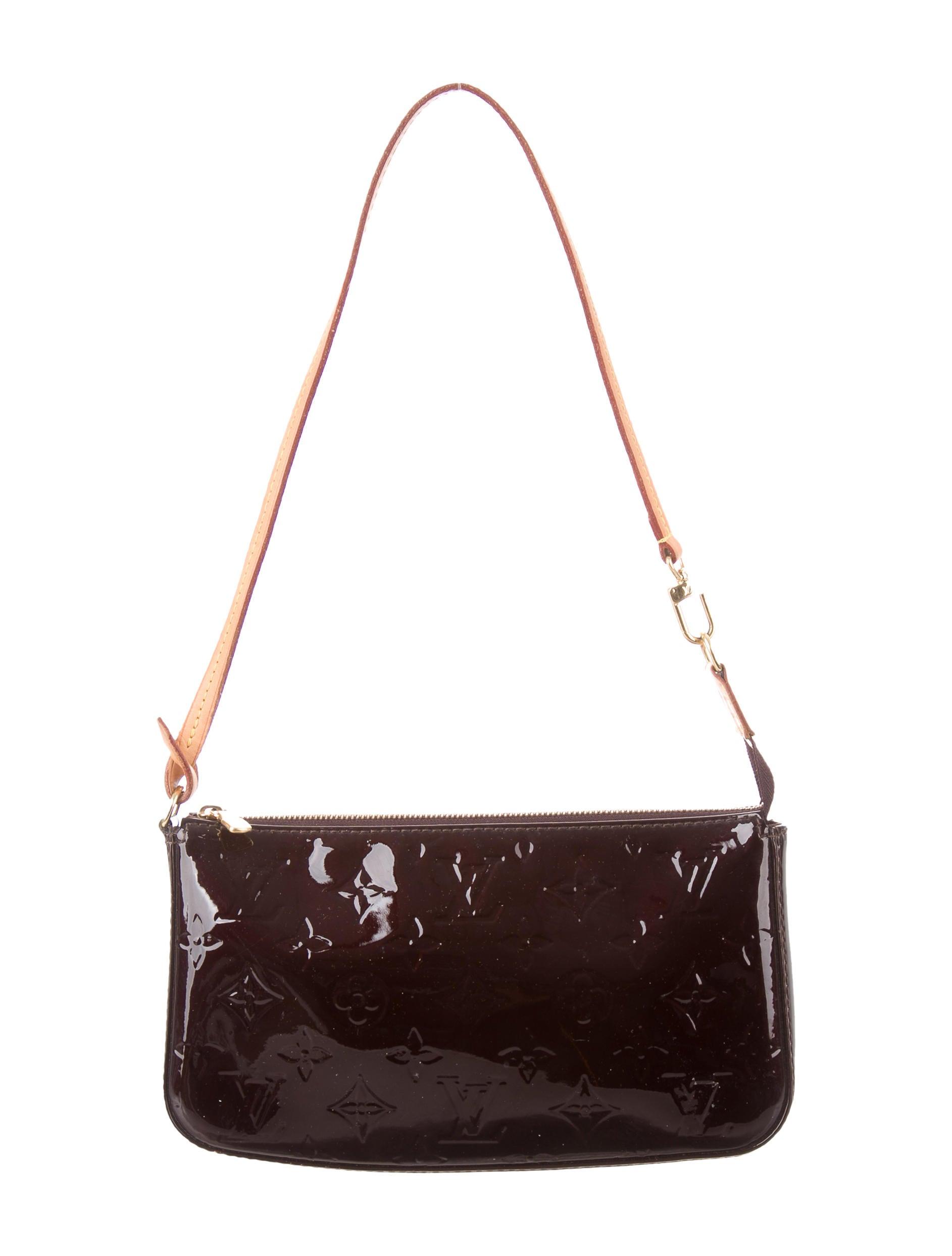louis vuitton vernis pochette accessoires nm handbags. Black Bedroom Furniture Sets. Home Design Ideas