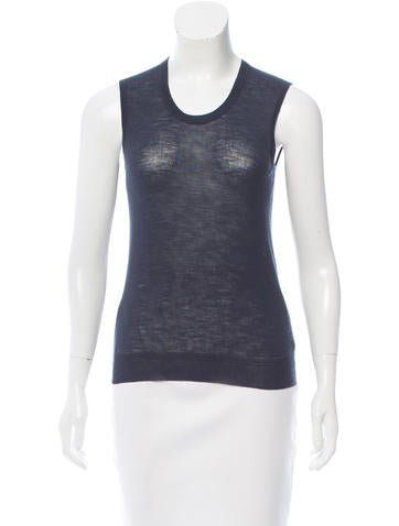 Louis Vuitton Wool Sleeveless Top None