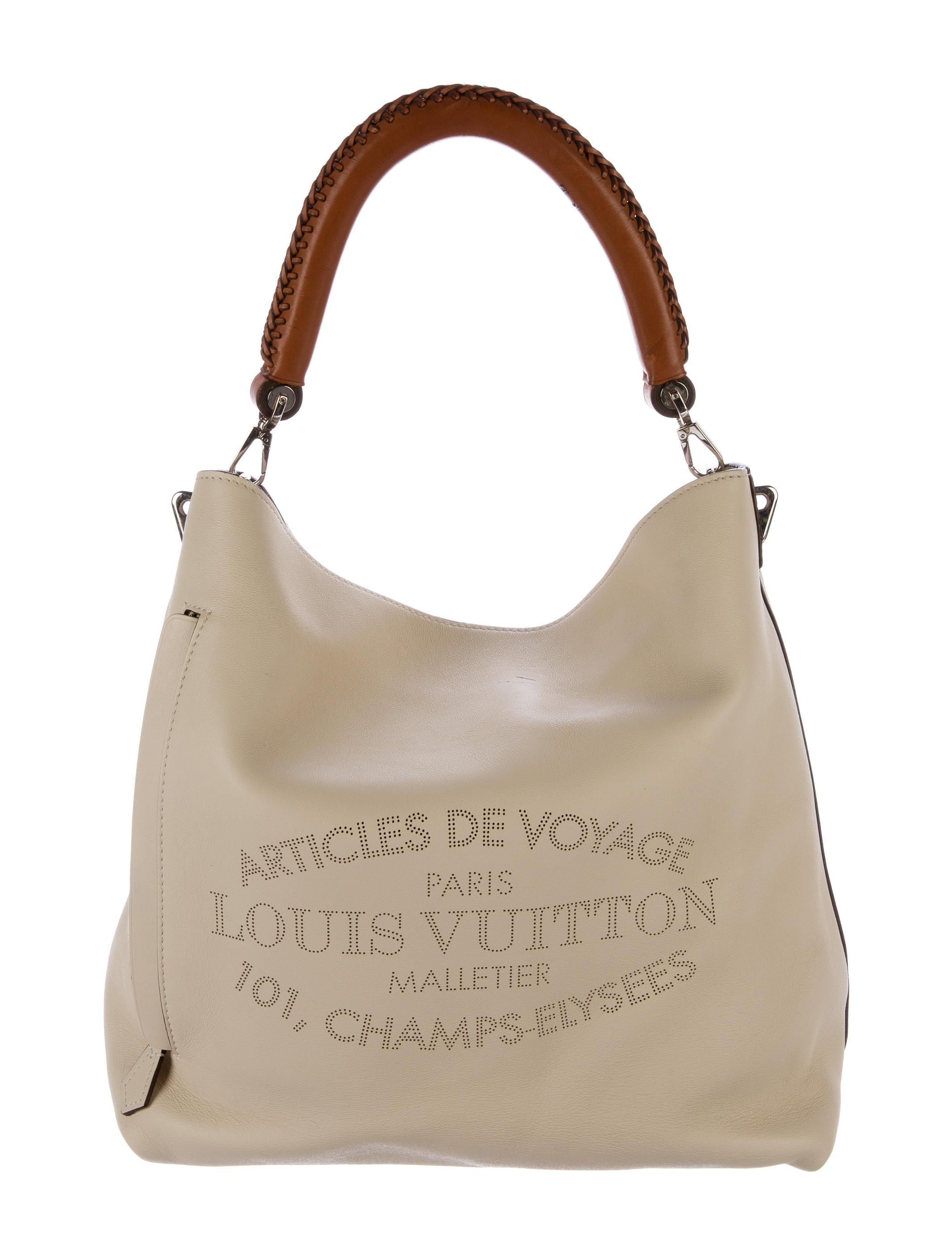 69b91c85fc48 Louis Vuitton Veau Soie Bagatelle Hobo - Handbags - LOU111586