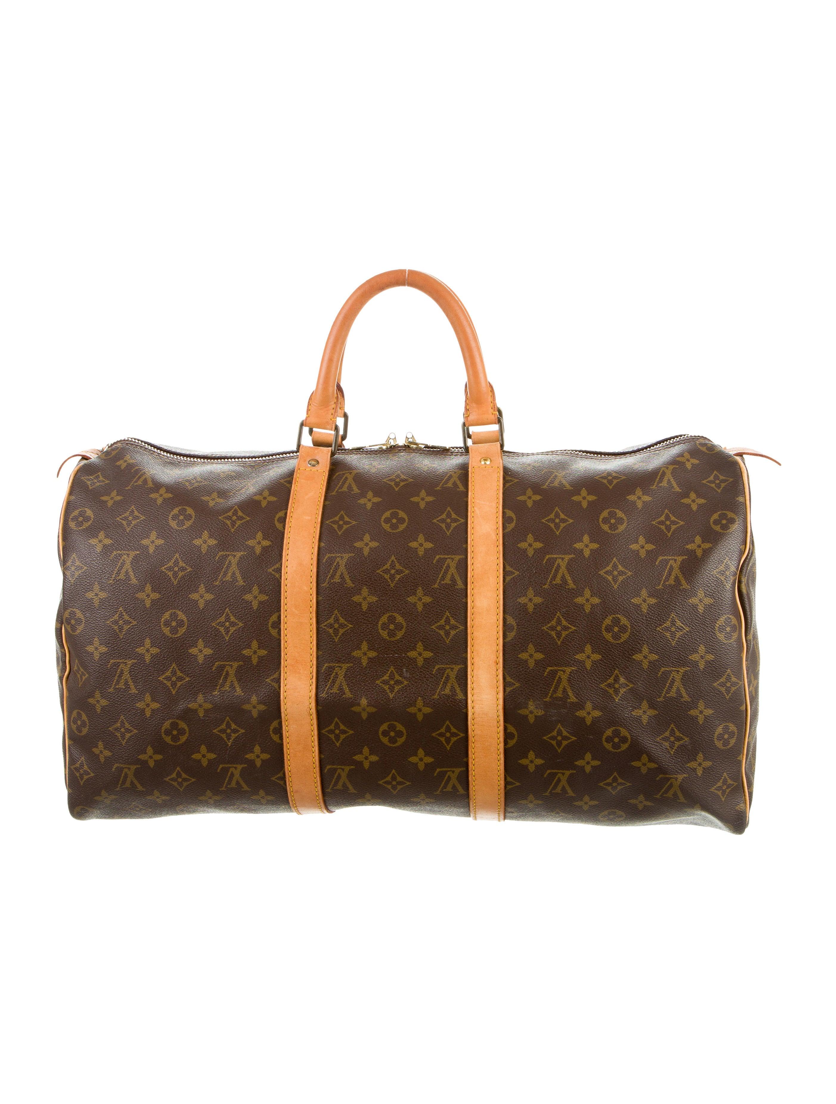 louis vuitton monogram keepall 50 handbags lou111726. Black Bedroom Furniture Sets. Home Design Ideas