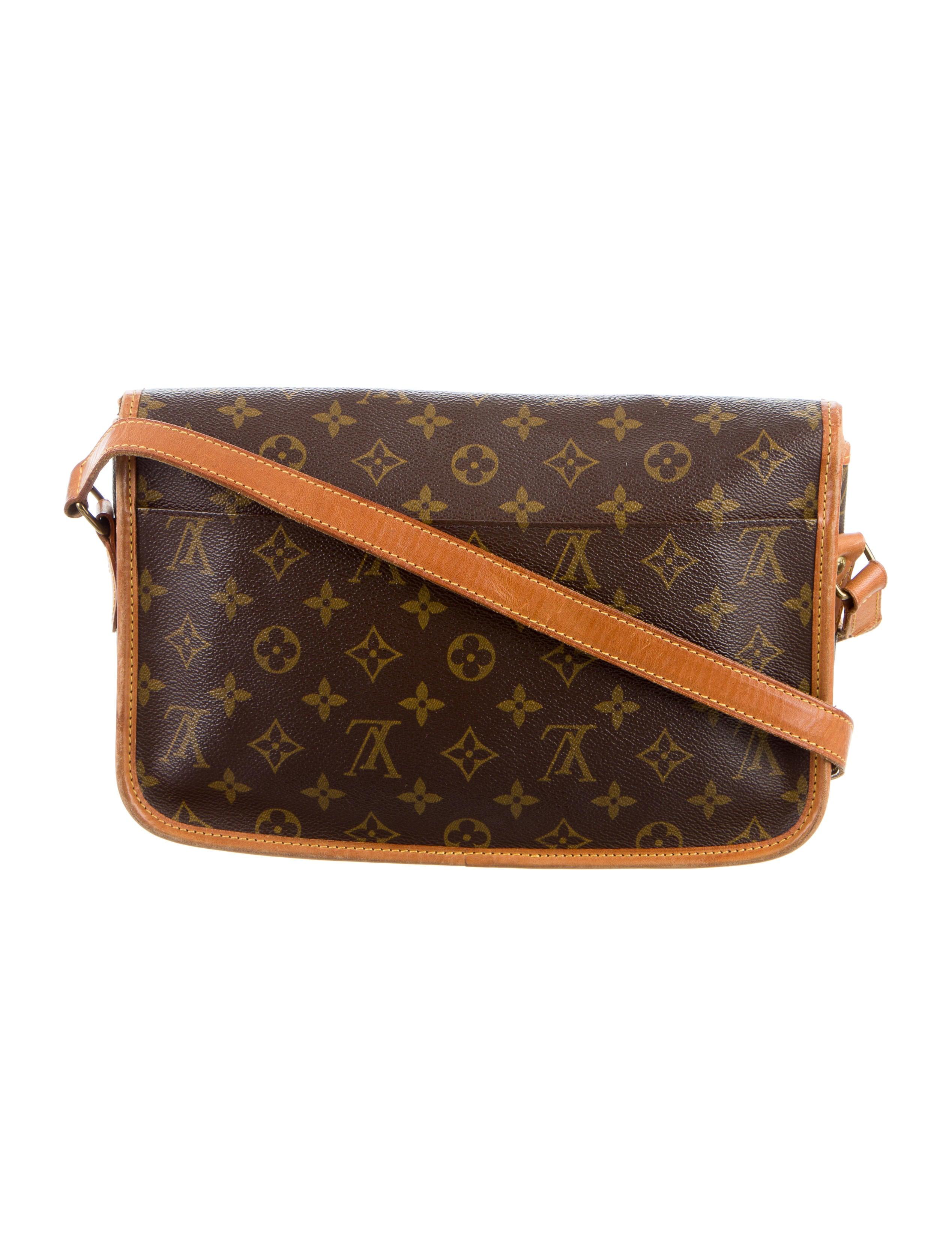 Sac Louis Vuitton Vrai : Louis vuitton monogram sac gibeciere mm handbags