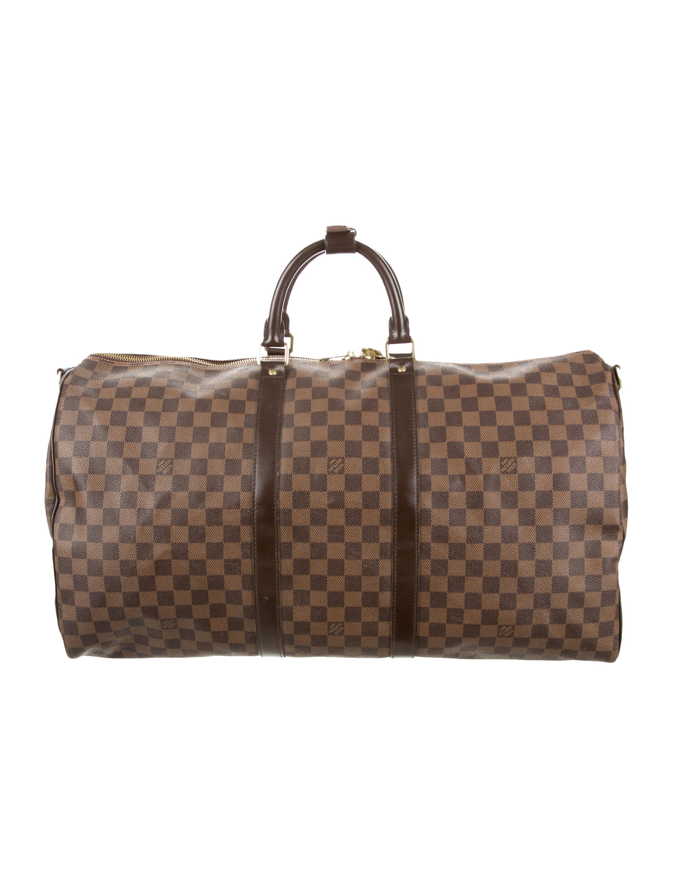 louis vuitton damier ebene keepall bandouli re 55 bags. Black Bedroom Furniture Sets. Home Design Ideas