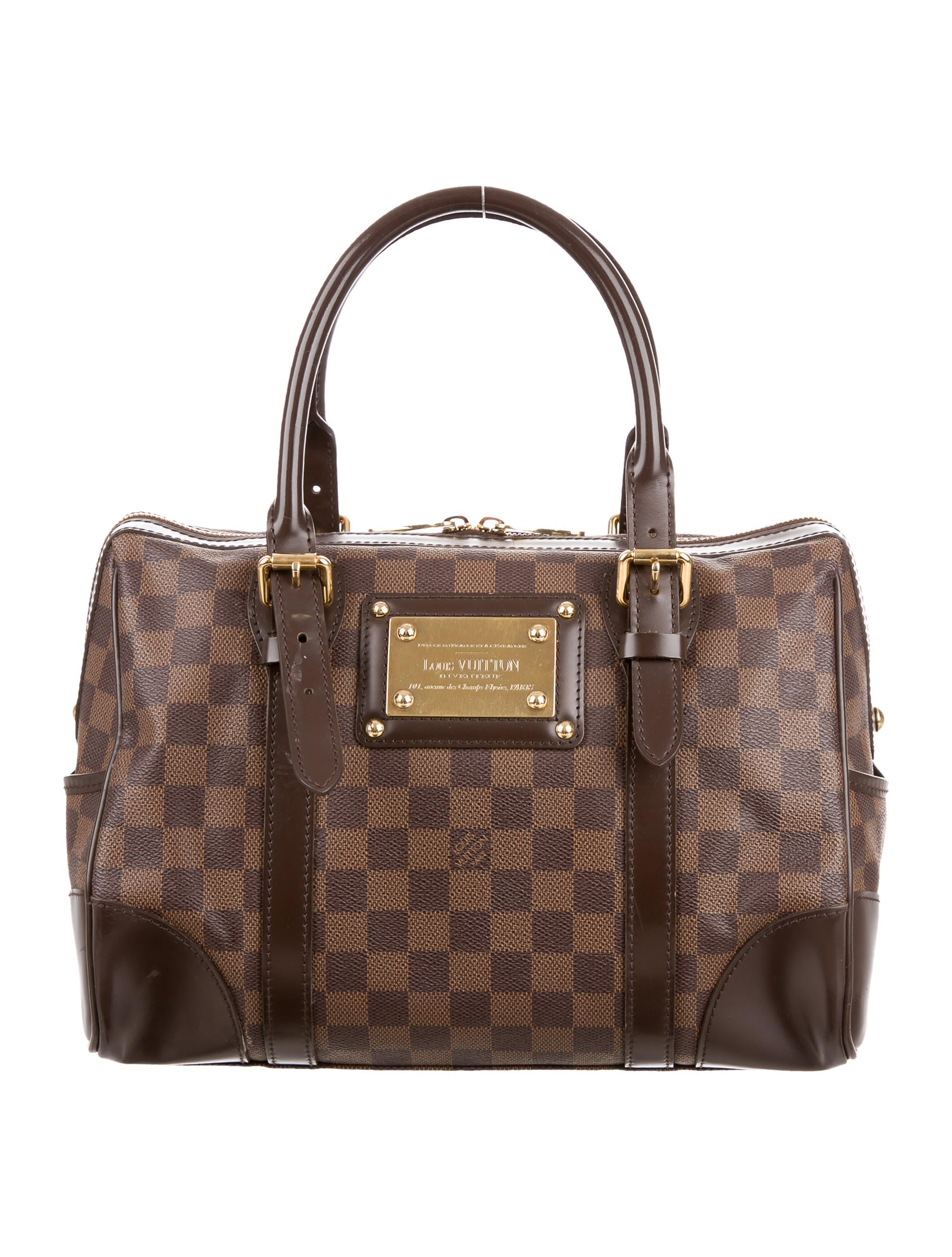 louis vuitton damier ebene berkeley bag handbags. Black Bedroom Furniture Sets. Home Design Ideas