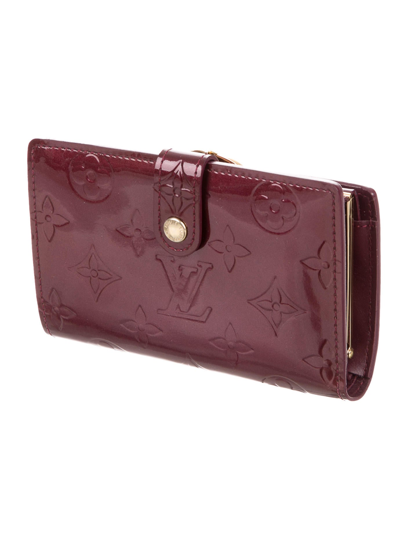 c6976d552 Louis Vuitton Vernis French Purse Wallet - Accessories - LOU112091 | The  RealReal