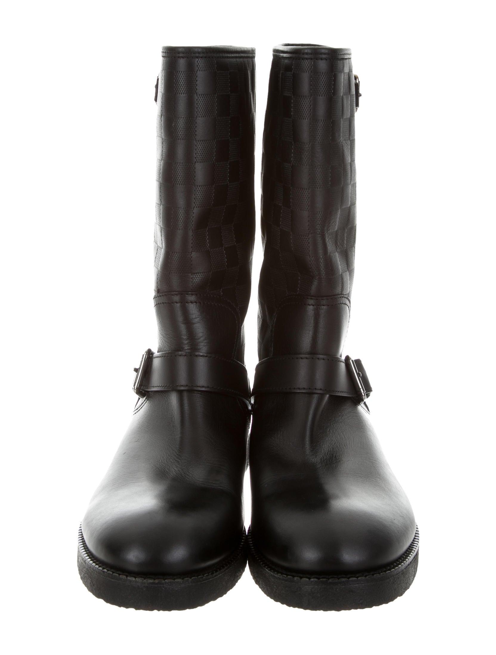 e7e169c3dbc Louis Vuitton Backfire Damier Boots - Shoes - LOU112134 .