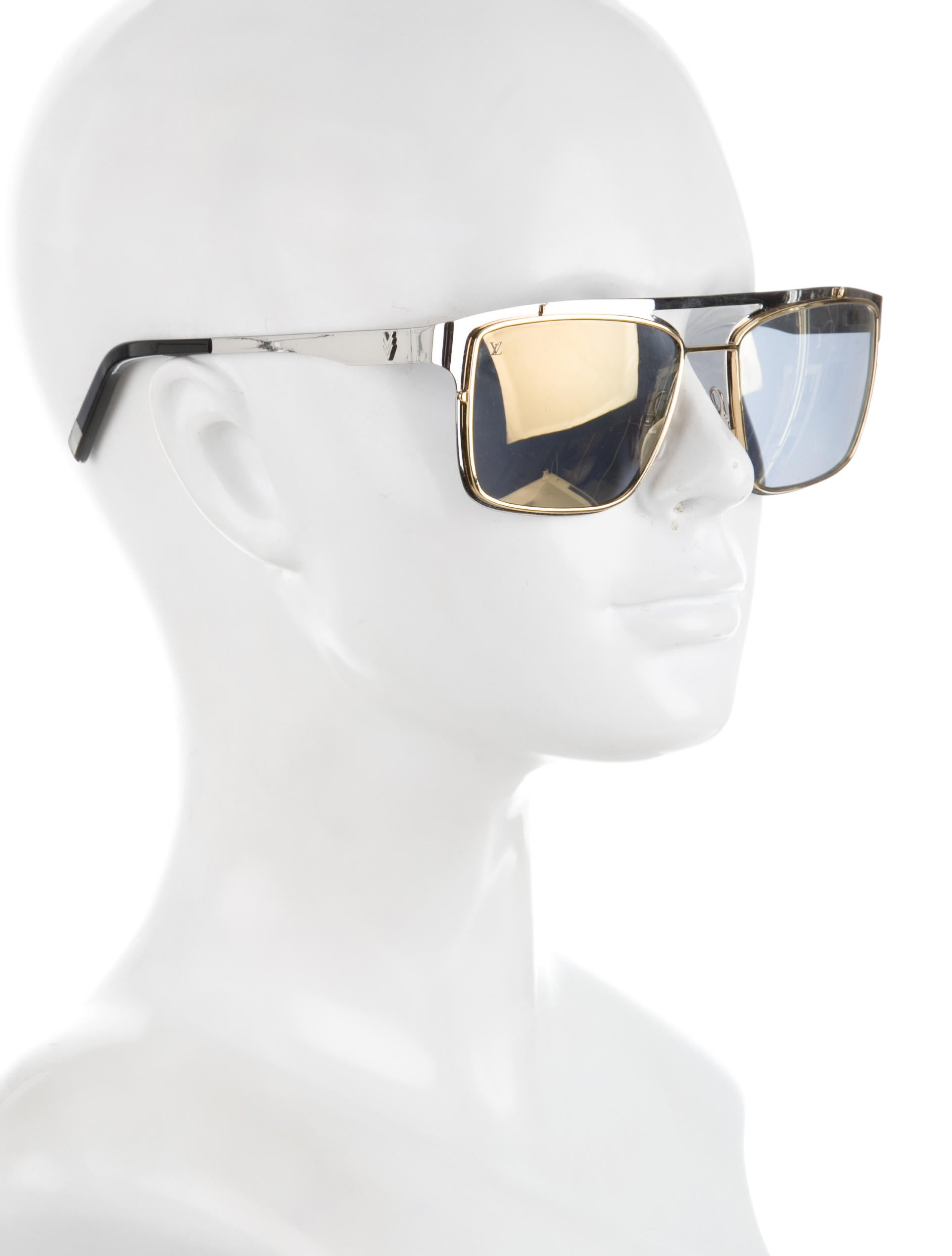 Louis Vuitton Gold Frame Sunglasses : Louis Vuitton Odyssee Sunglasses - Accessories - LOU112676 ...