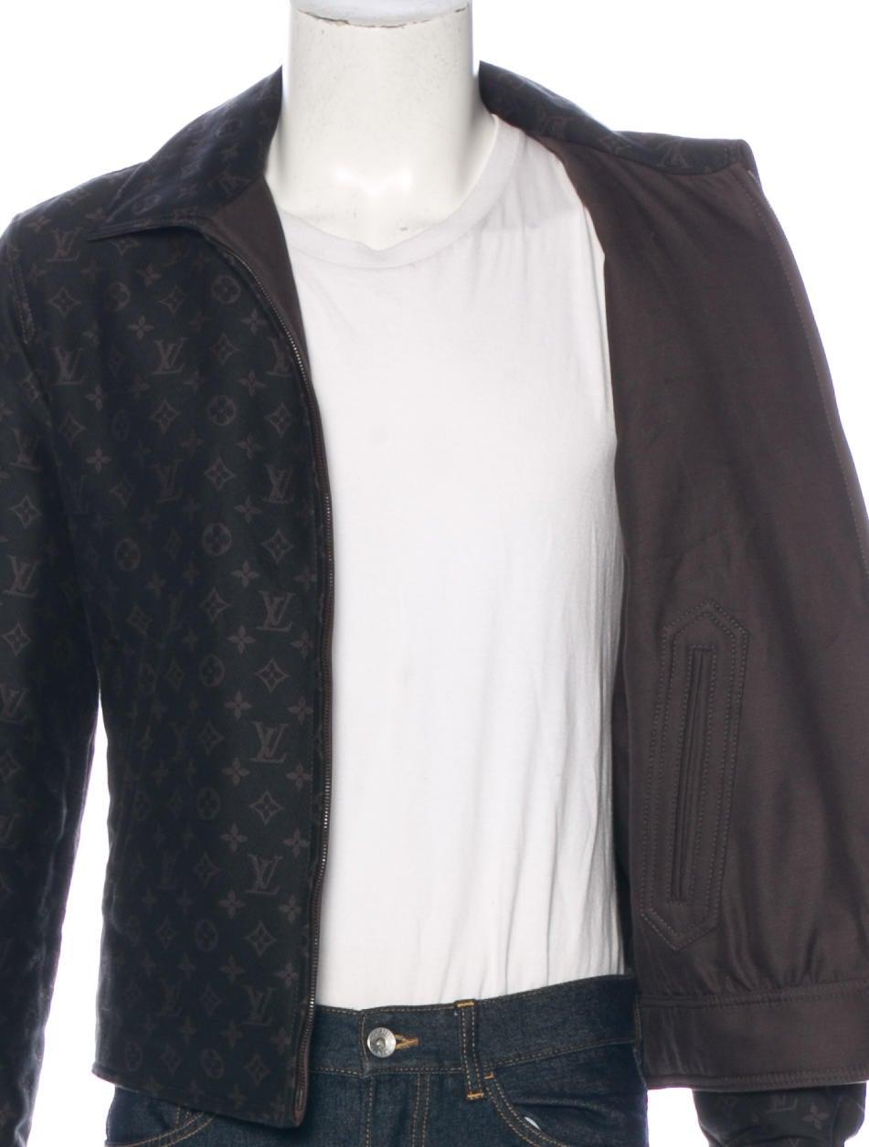 louis vuitton monogram reversible jacket clothing. Black Bedroom Furniture Sets. Home Design Ideas
