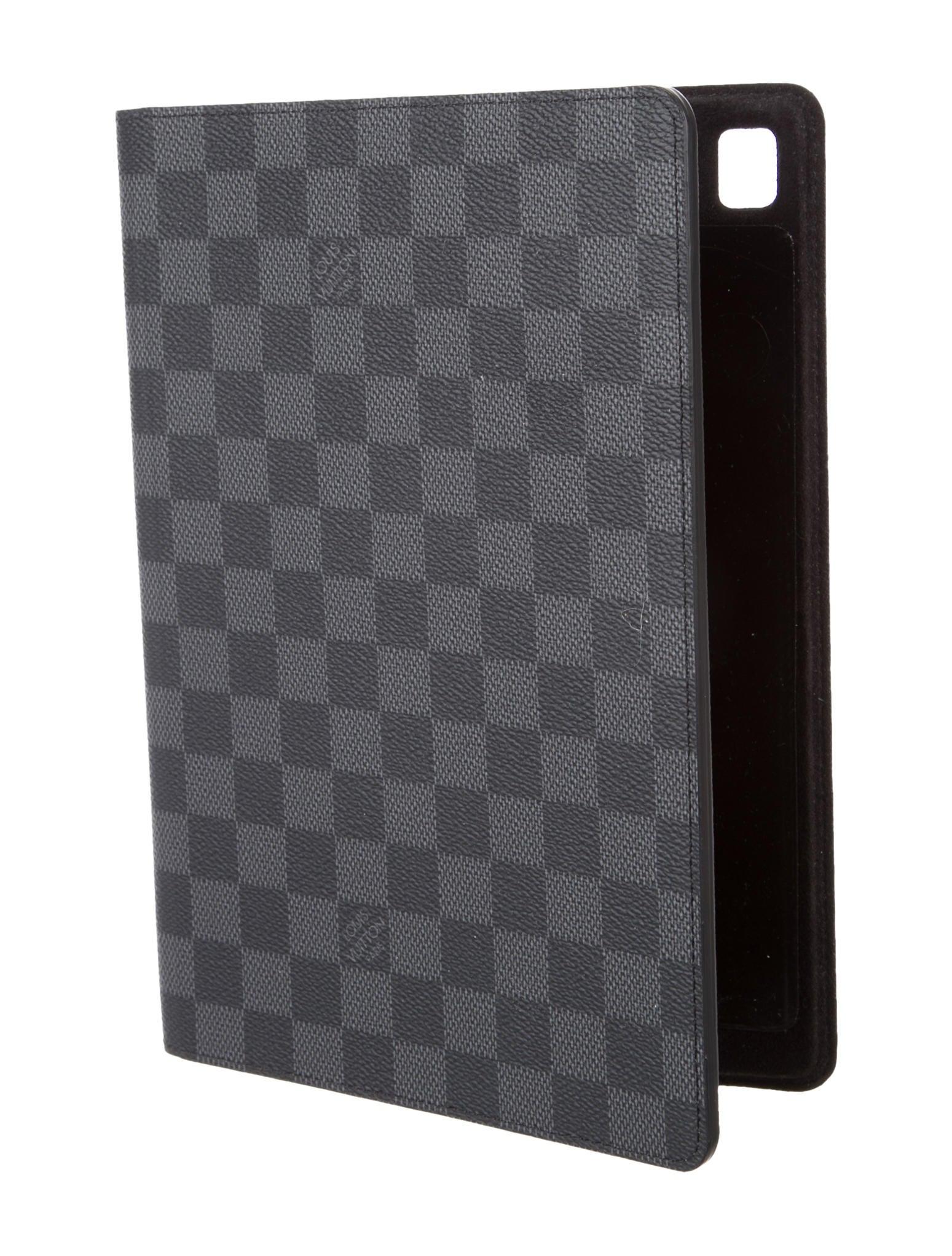 Louis Vuitton Damier Graphite Ipad Pro Folio Technology