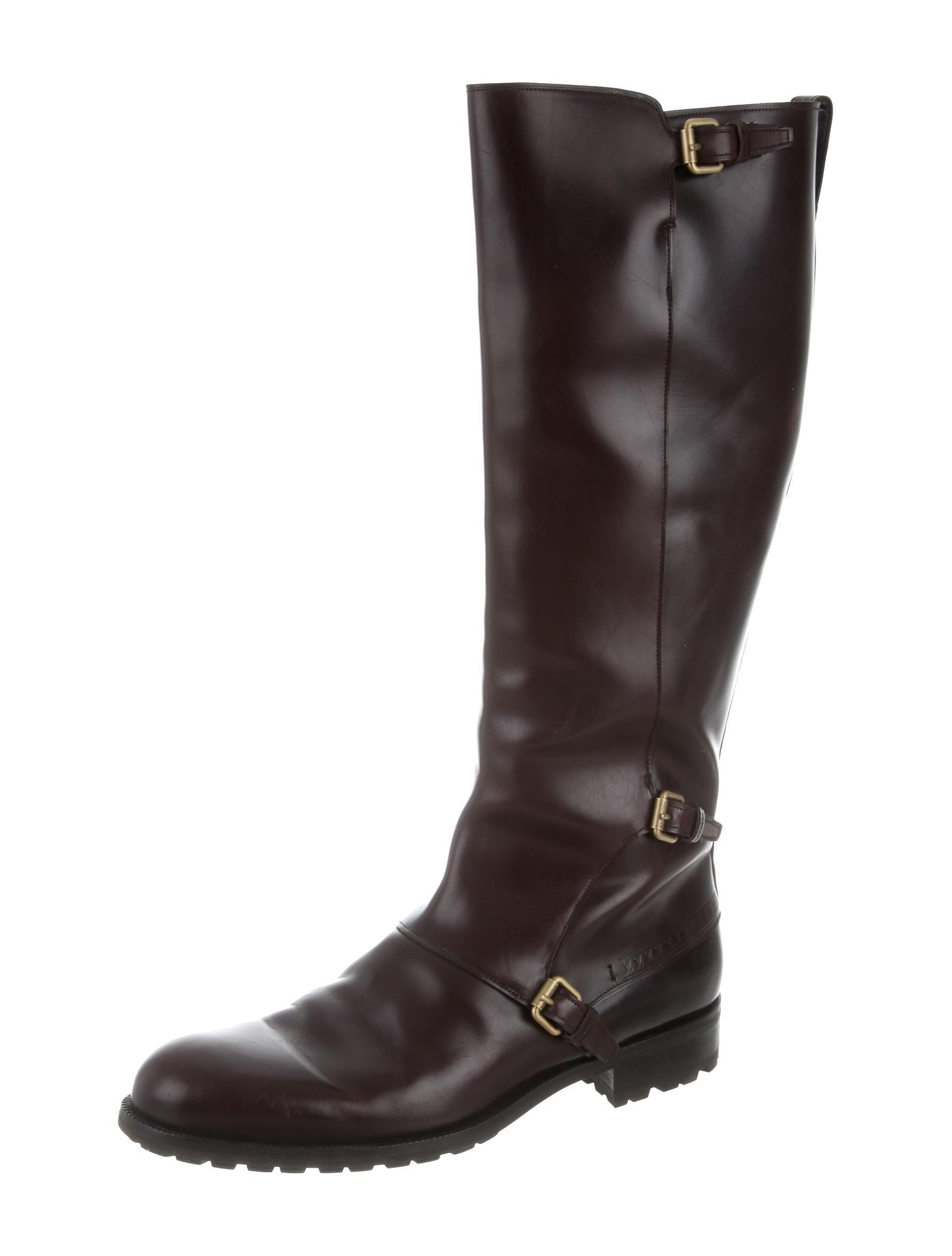 louis vuitton leather boots shoes lou113527
