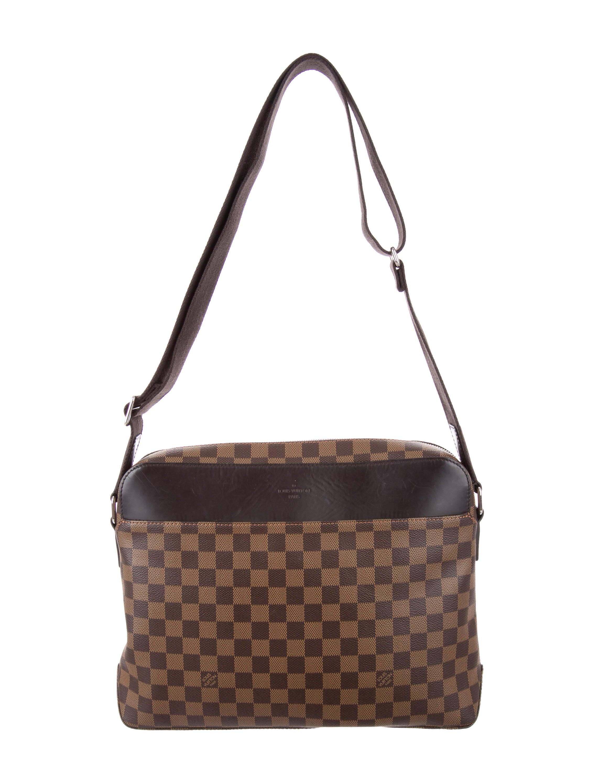 Louis Vuitton 2015 Damier Ebene Jake Messenger Bag - Handbags ... 5423905433e67